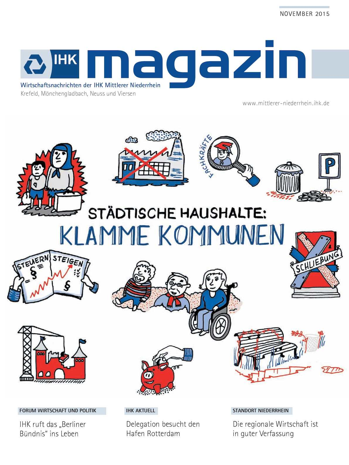 Calaméo - IHK Magazin November 2015
