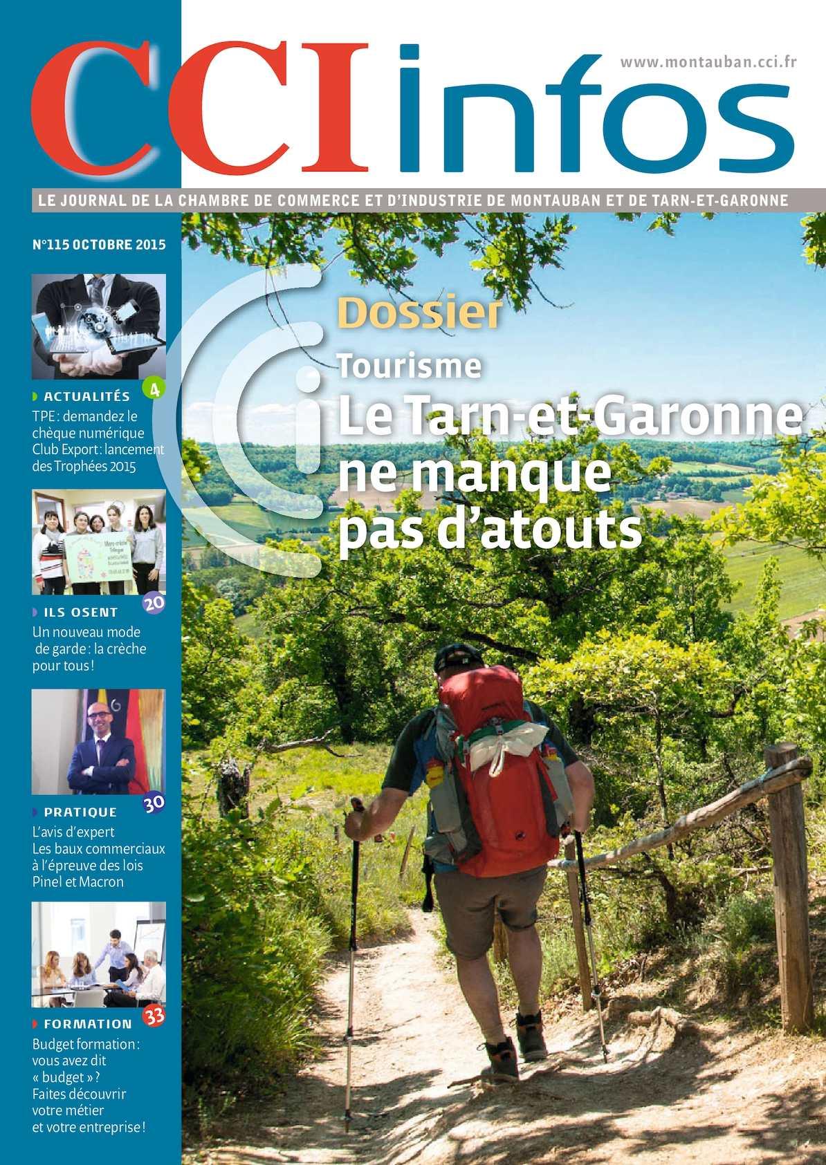 Calam o cci infos octobre 2015 for Chambre de commerce montauban