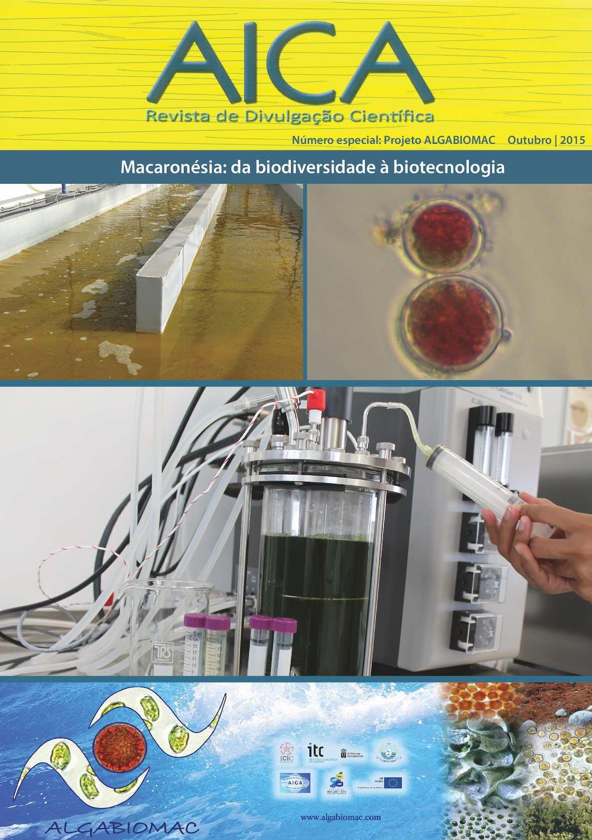 Revista de Divulgação Científica AICA Número especial: Projeto ALGABIOMAC