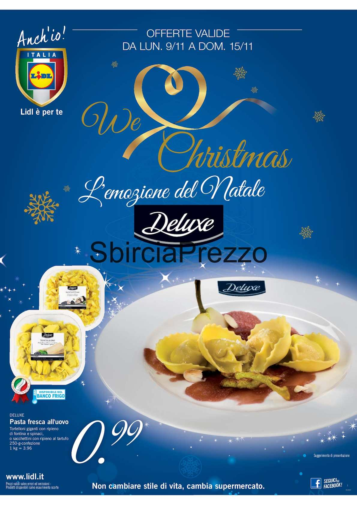 Calameo Volantino Lidl We Love Christmas L Emozione Del Natale
