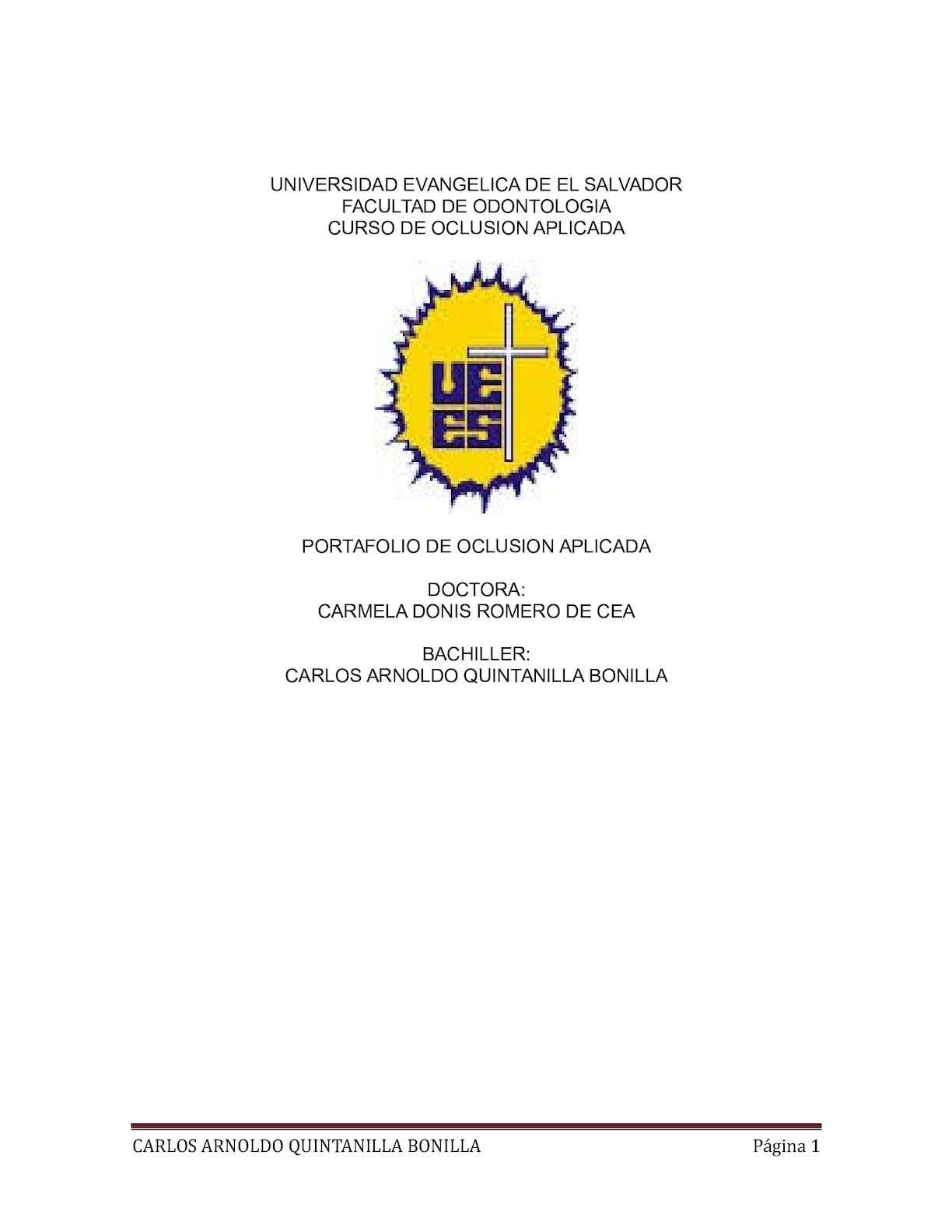 Calaméo - Portafolio Oclusion Aplicada Arnoldo Quintanilla