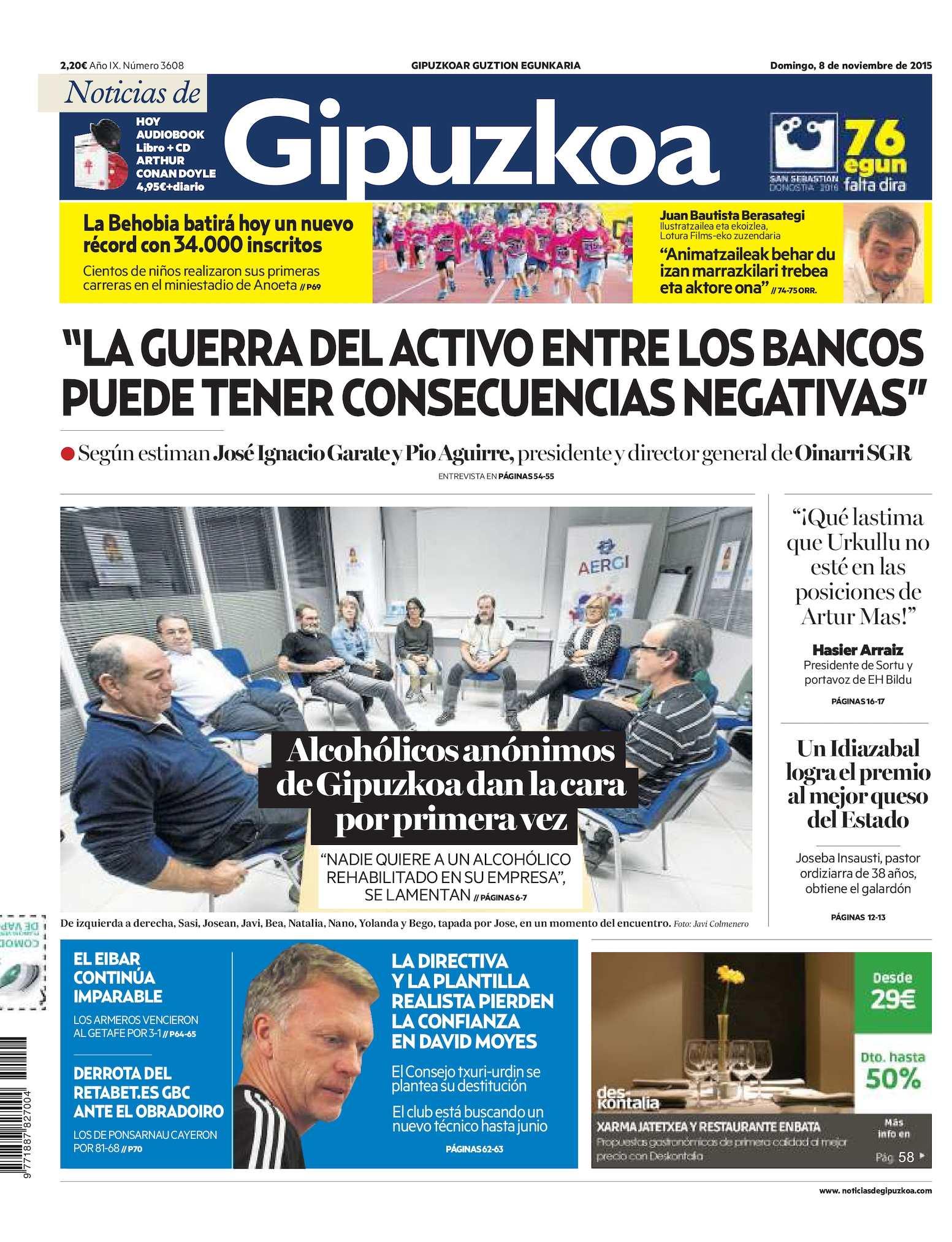 Calaméo Noticias De Gipuzkoa 20151108
