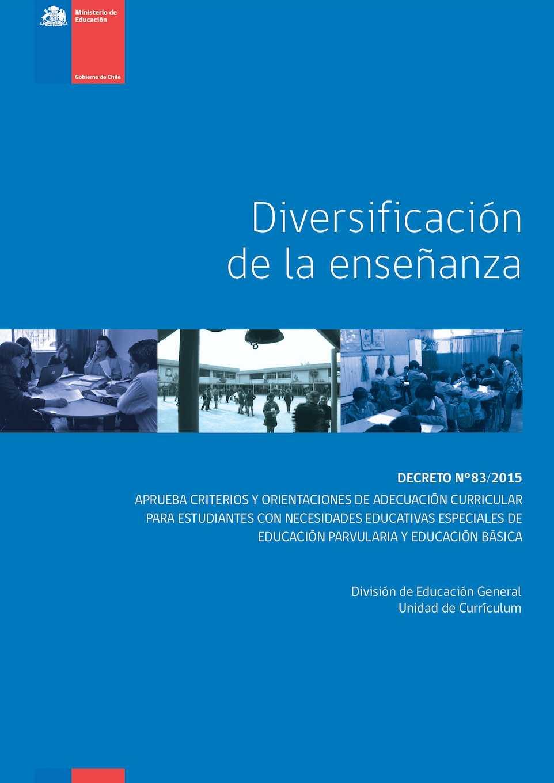 Decreto 83 2015