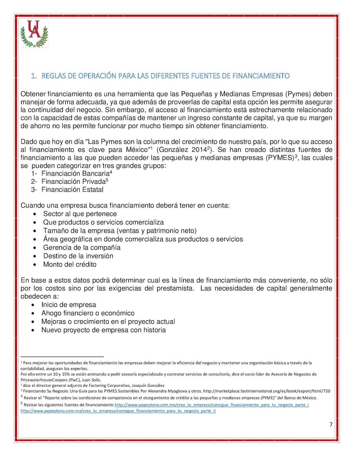 Fuentes De Financiamiento Para Pymes - CALAMEO Downloader