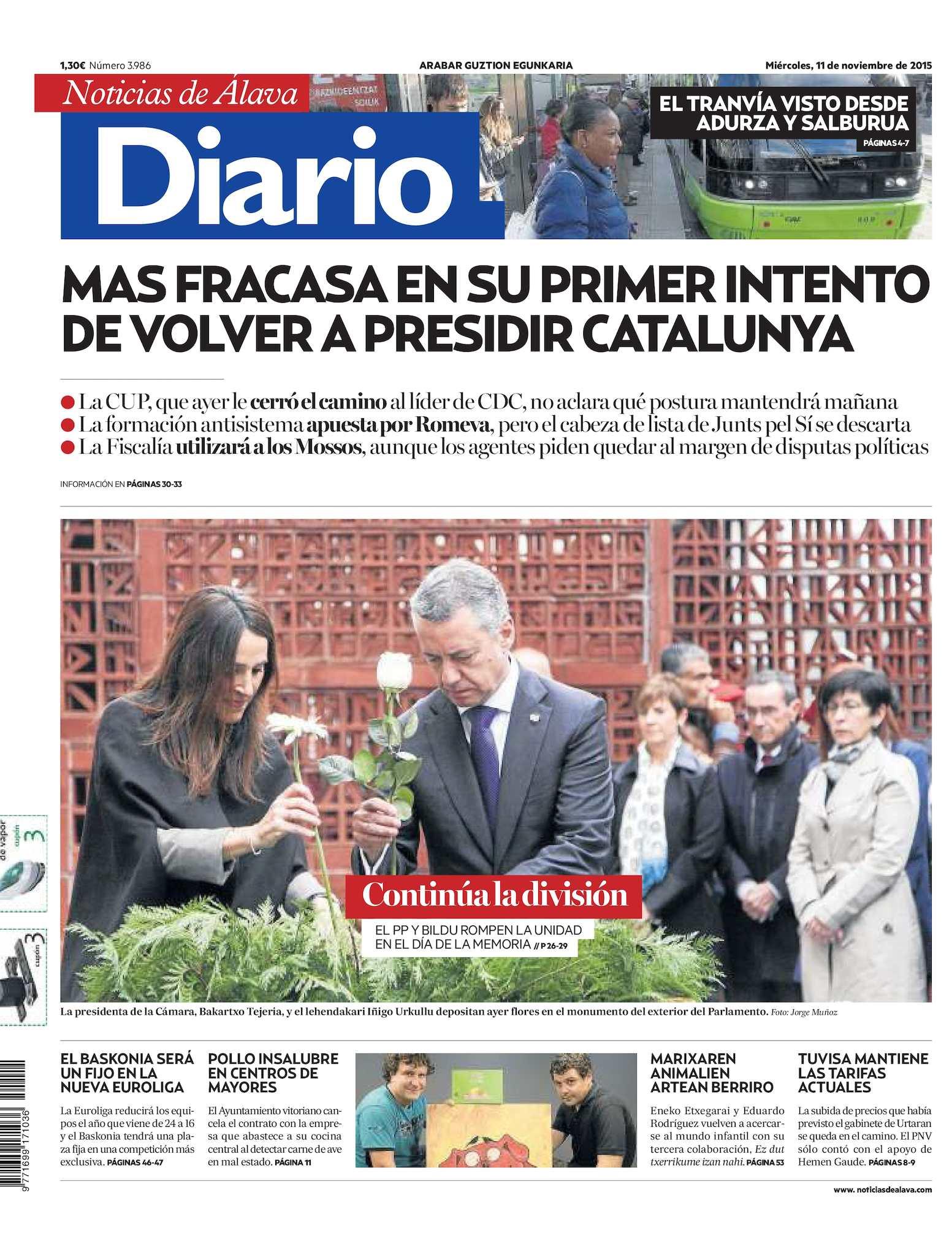Calaméo - Diario de Noticias de Álava 20151111