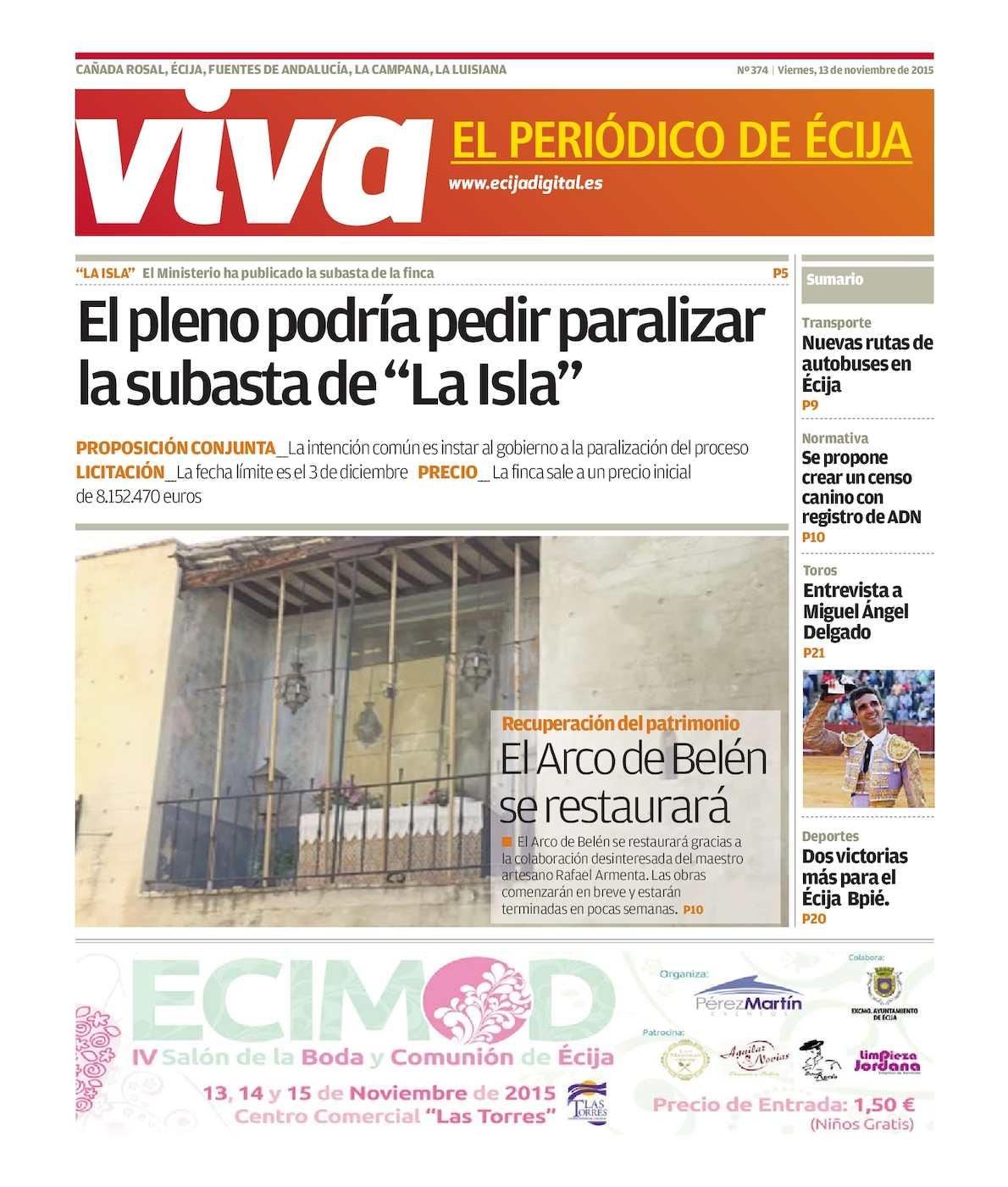 Calaméo - Viva El Periódico De ÉCija Noviembre