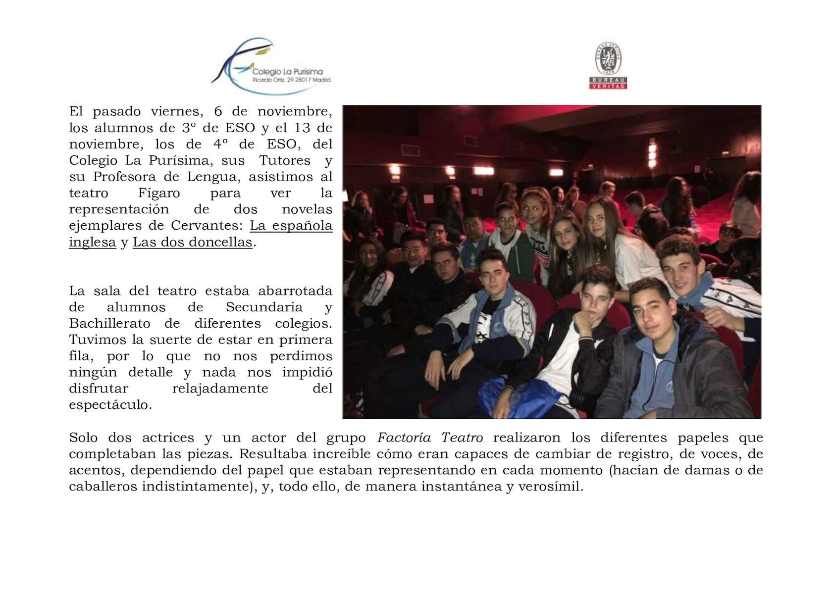 Calaméo - Visita Al Teatro Fígaro