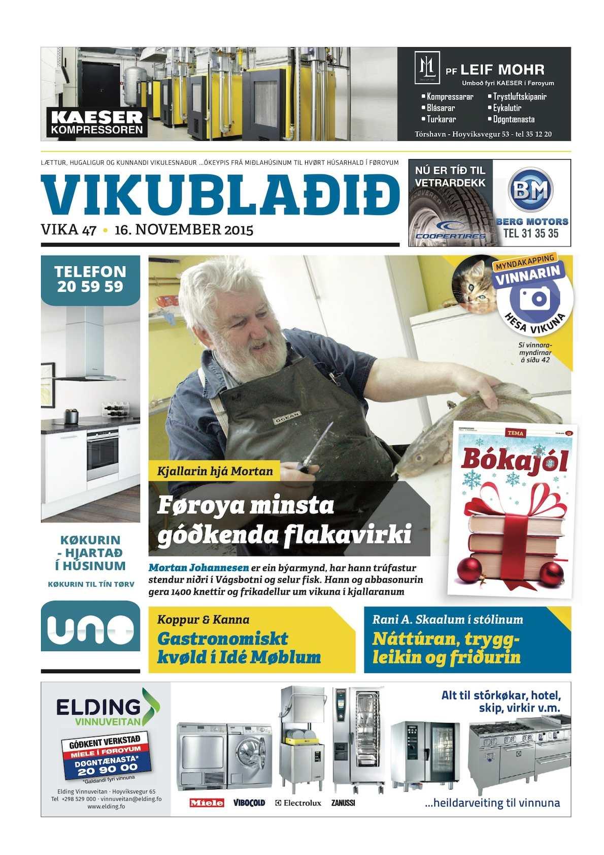 Vikublaðið  16. nov. 2015
