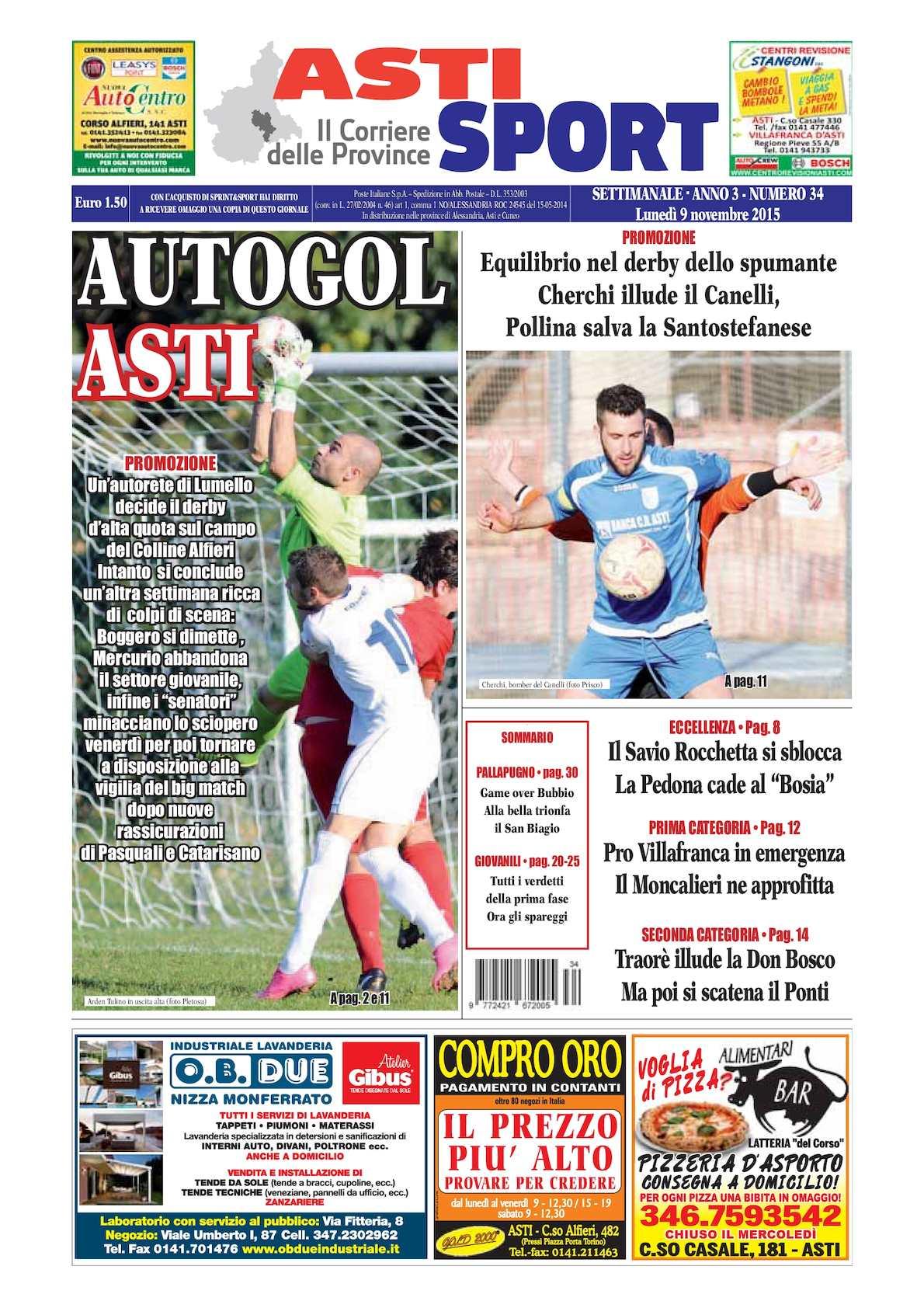 Calaméo 2015 Asti Sport 34