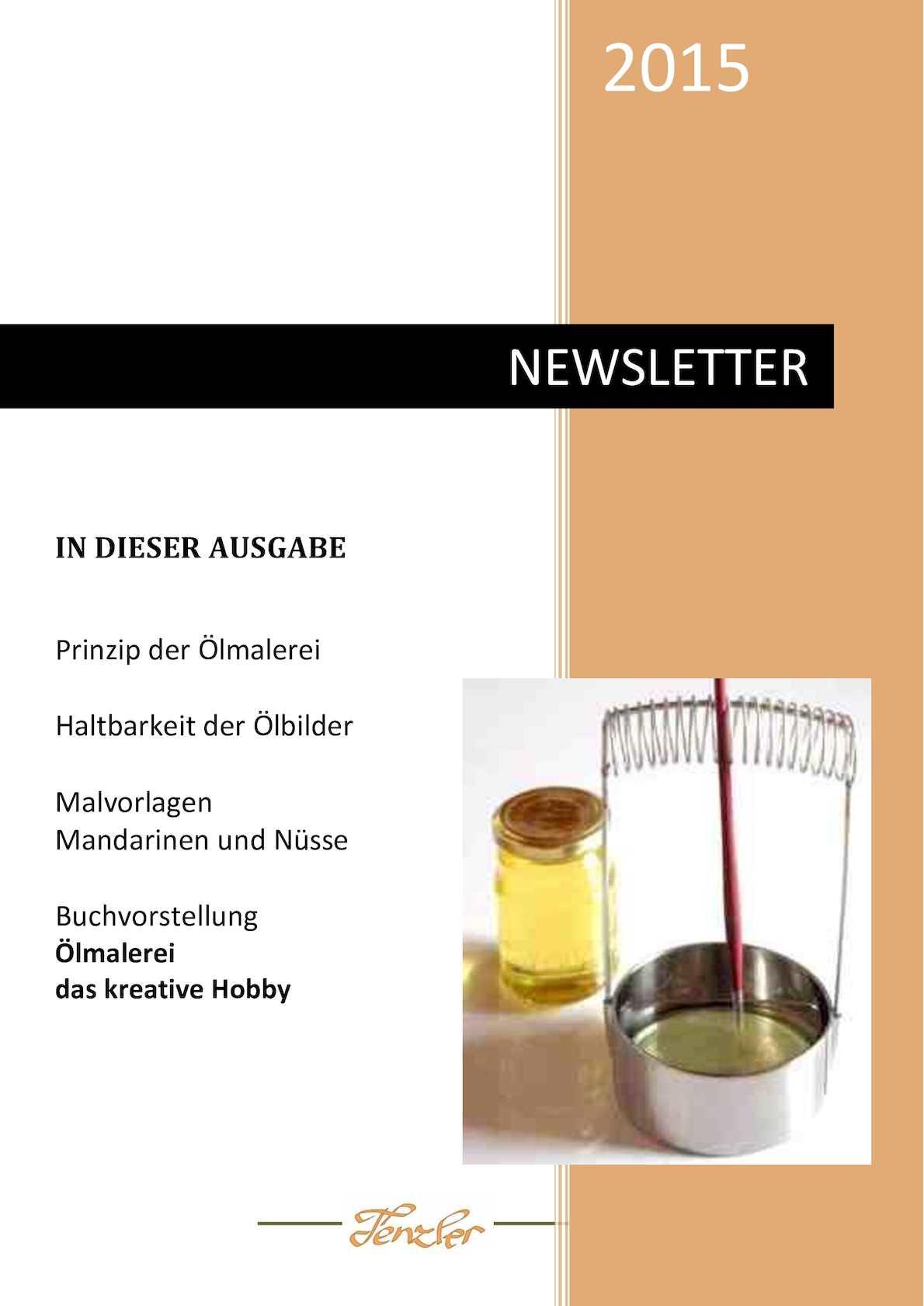Calaméo - Ölmalerei Newsletter 2015 1