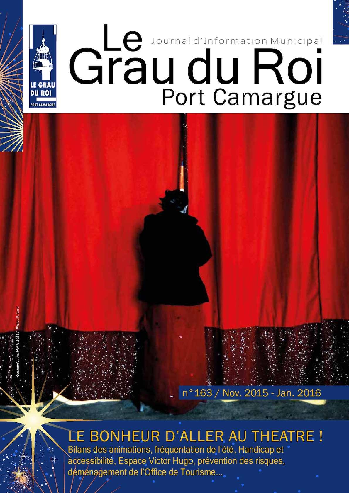 Calam o le grau du roi port camargue journal d information municipal n 163 nov 2015 - Office du tourisme grau du roi ...
