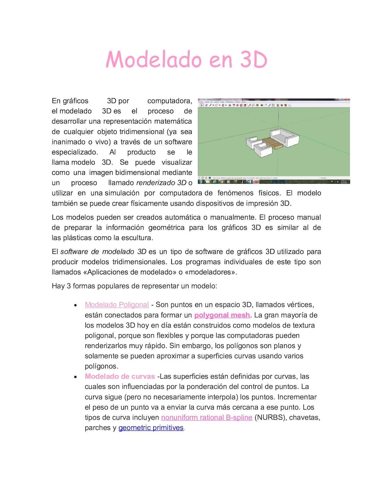 Modelado En 3d Fiorella Verbel