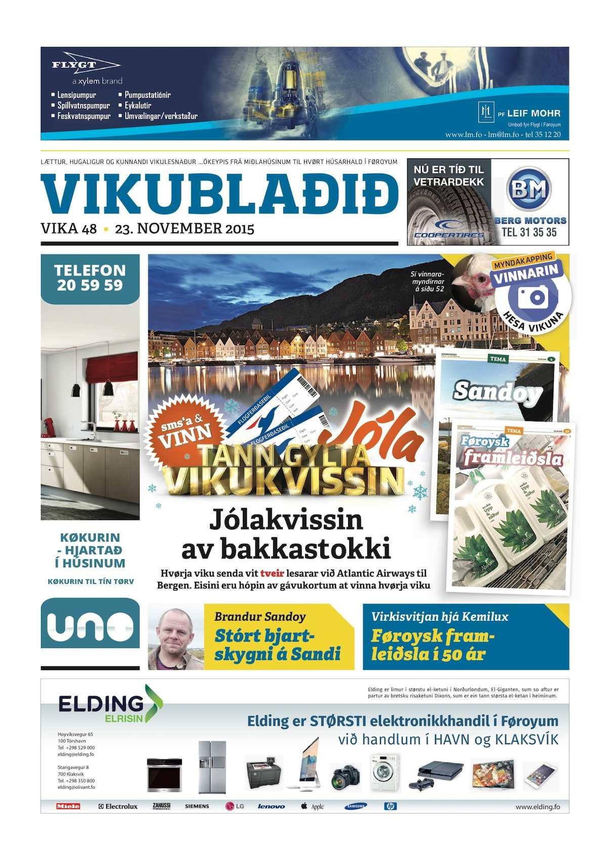 Vikublaðið 23. nov. 2015