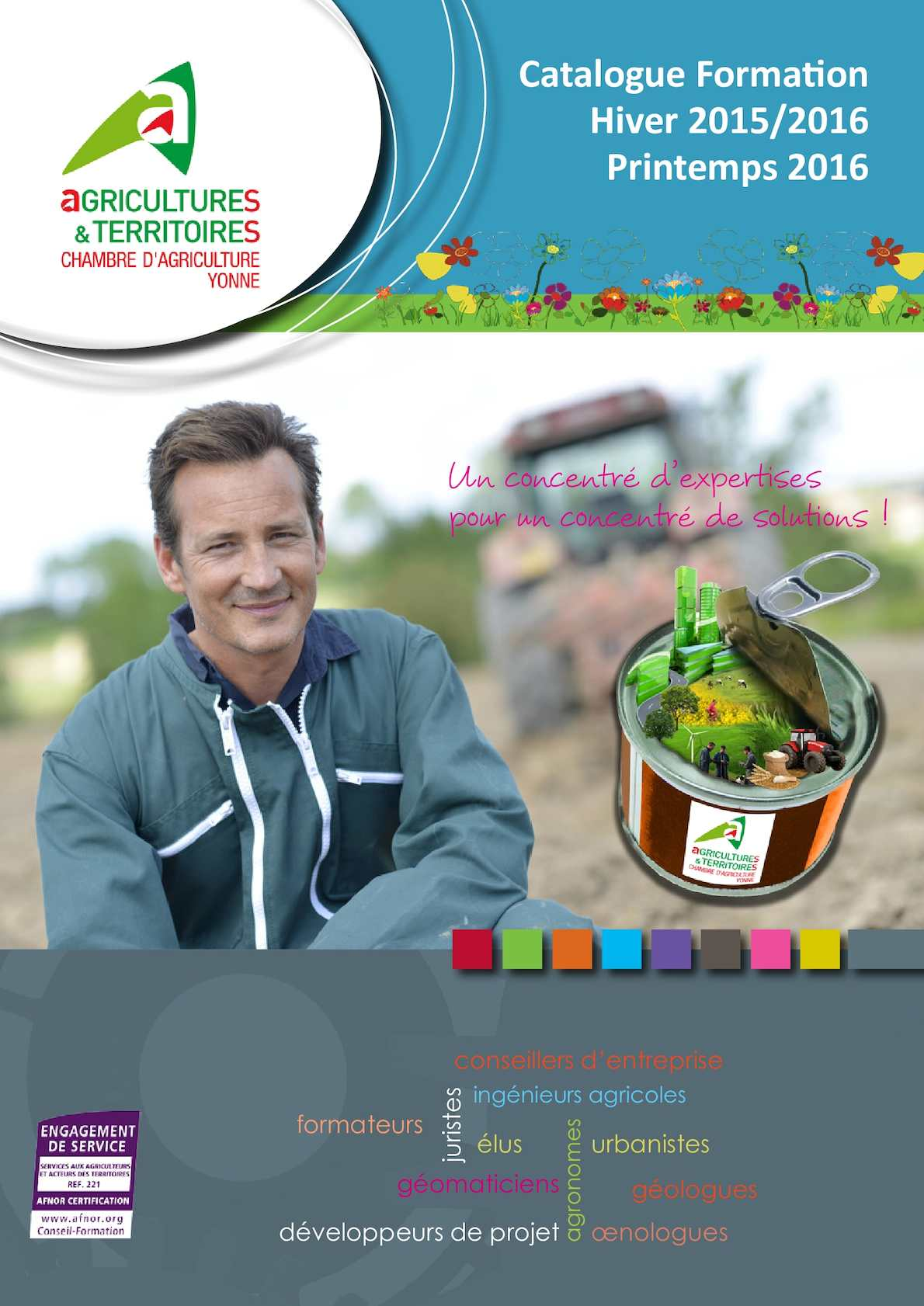 Calam o catalogue hiver 2015 printemps 2016 - Chambre agriculture yonne ...