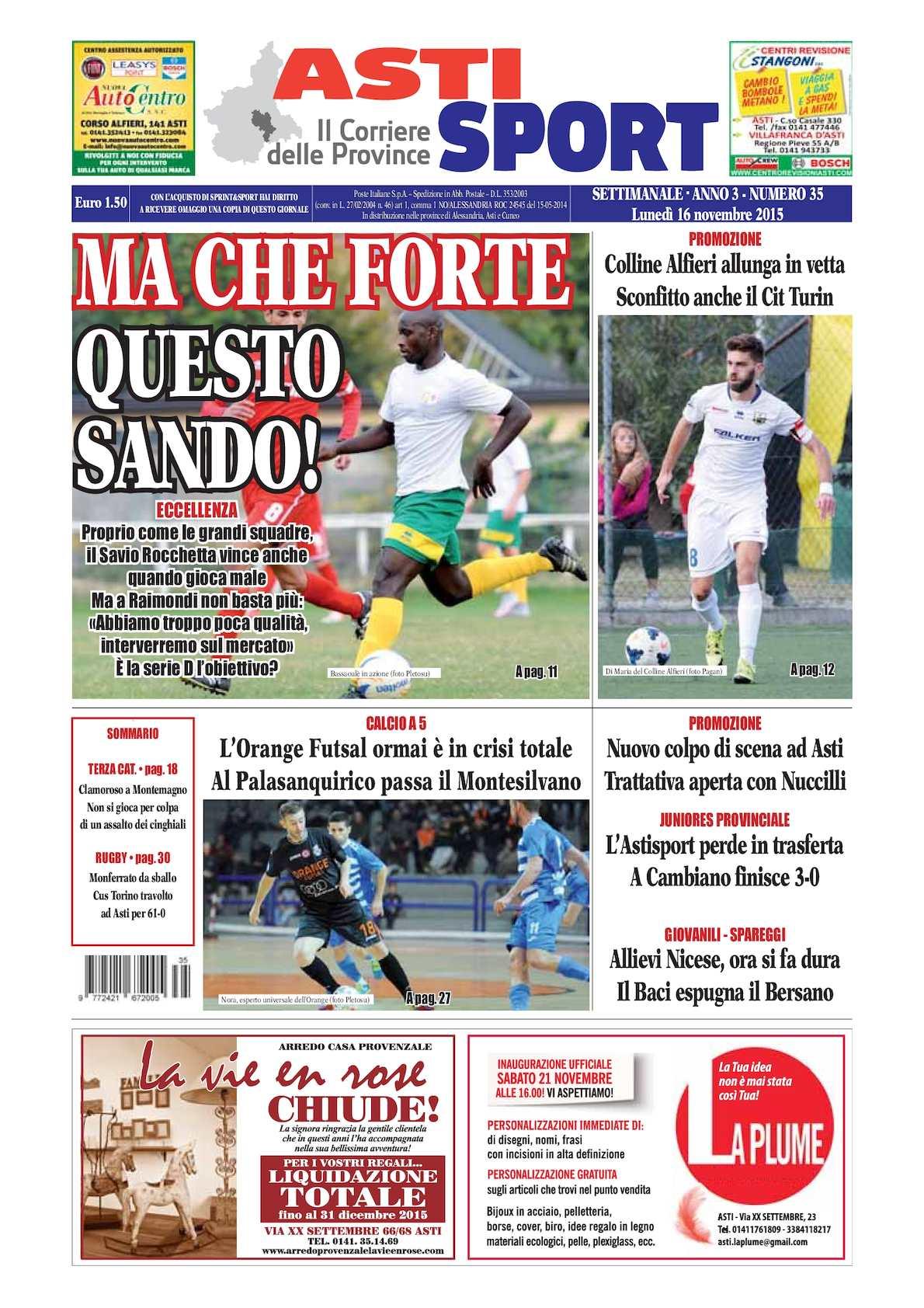 Calaméo 2015 Asti Sport 35