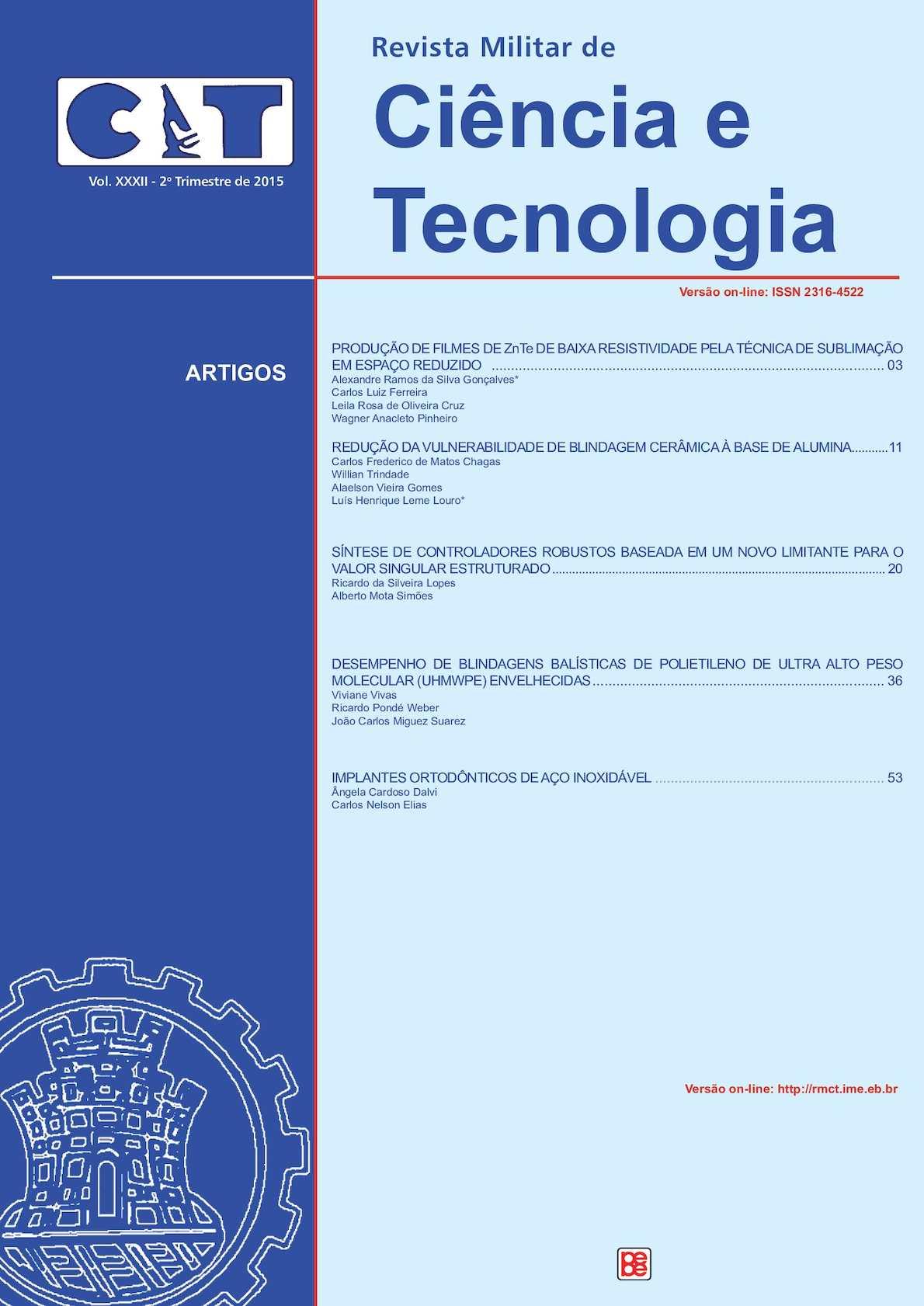 Revista Militar de Ciência e Tecnologia - 2 Trim 2015