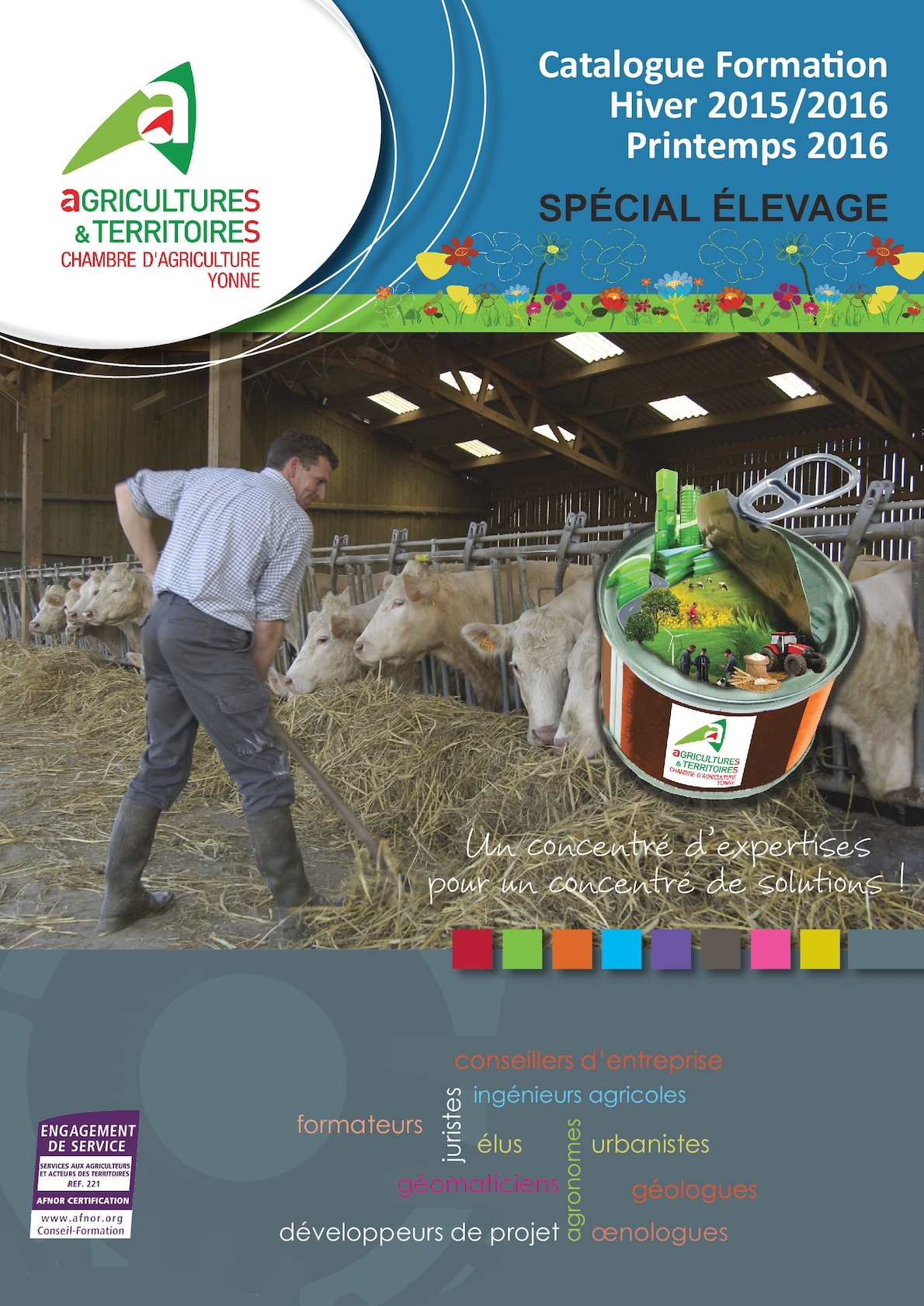 Calam o cata elevage hiver 2015 printemps 2016 - Chambre agriculture yonne ...