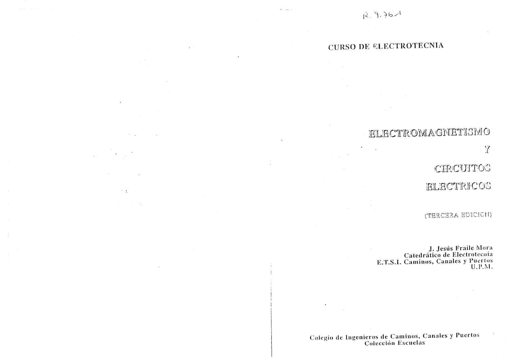 Circuito Cnp : Calaméo electrotecnia electromagnetismo circuito electrico
