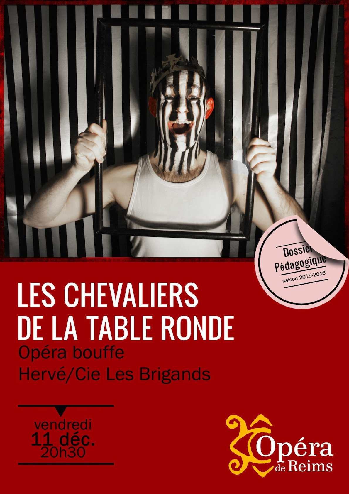 Calam o carnet d 39 opera les chevaliers de la table ronde - Keu chevalier de la table ronde ...