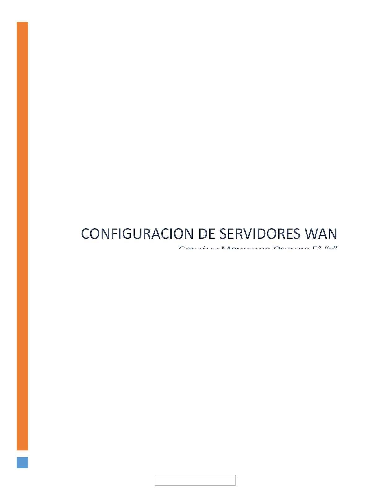 Calaméo - Manual Configuracion De Servidores Wan