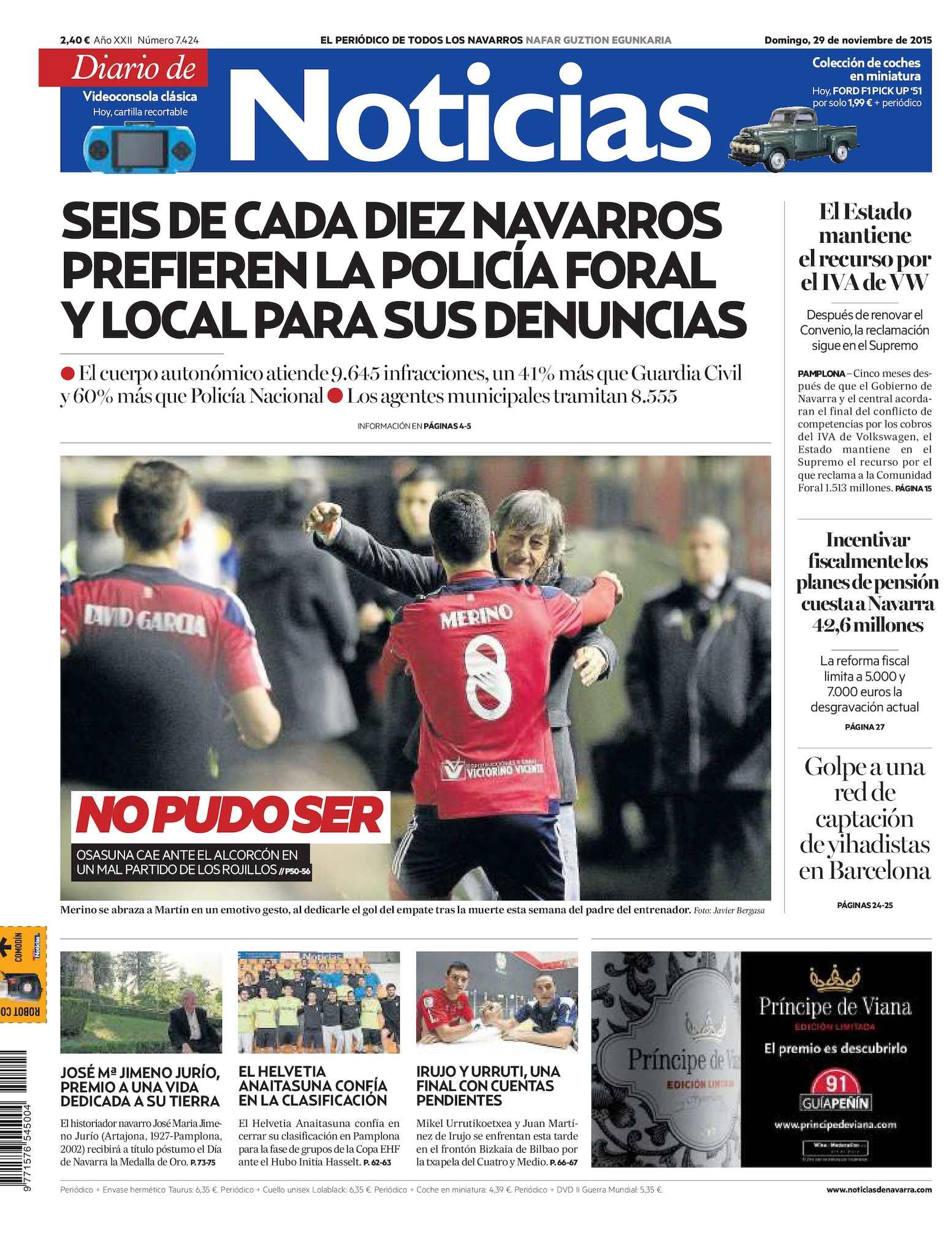 d5664f9b94805 Calaméo - Diario de Noticias 20151129