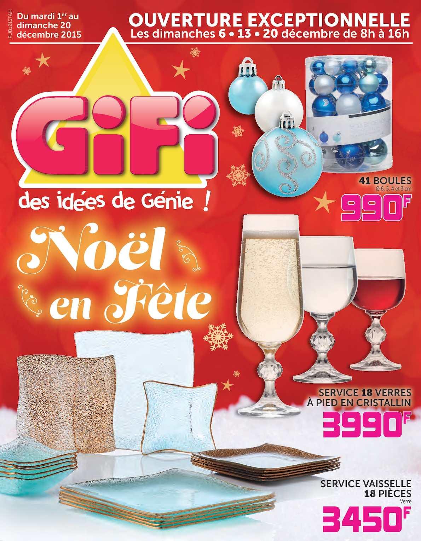 Catalogue Deco Noel Gifi Ecio2010