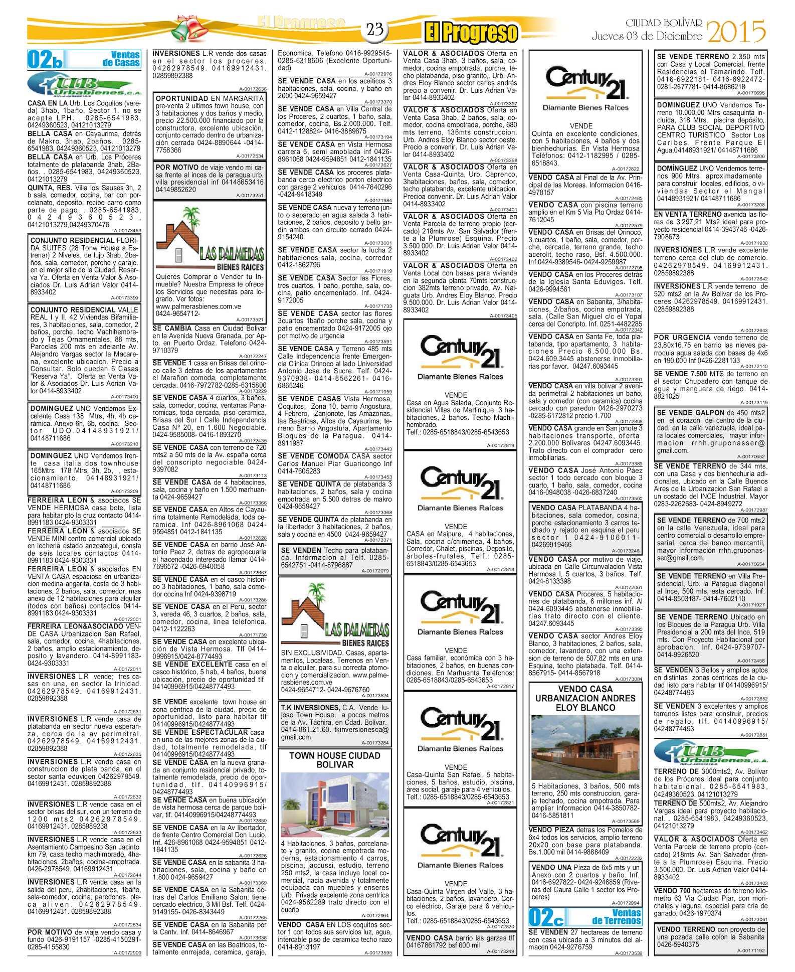 Diarioelprogresoedici Ndigital 03 12 2015 Calameo Downloader # Muebles Zona Franca