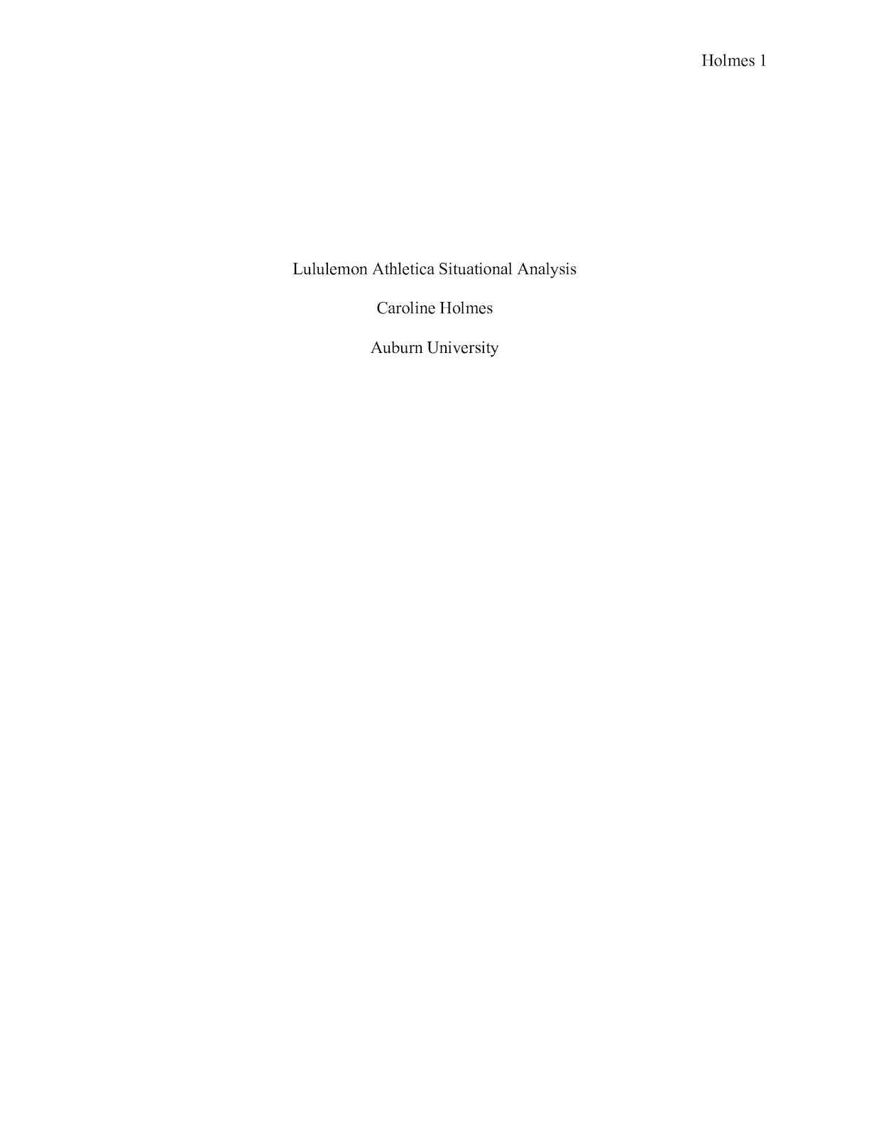lululemon case study