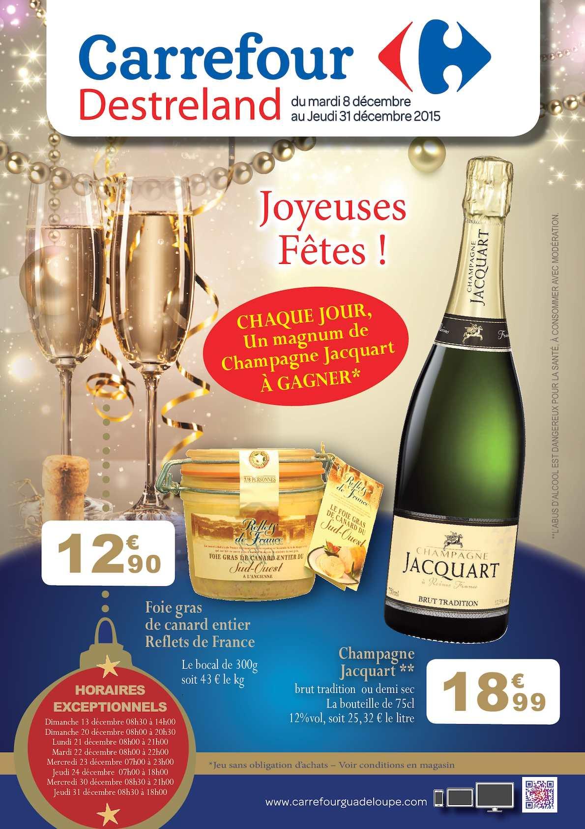 Calam o carrefour catalogue festifs 2015 - Joyeuses fetes magasin ...