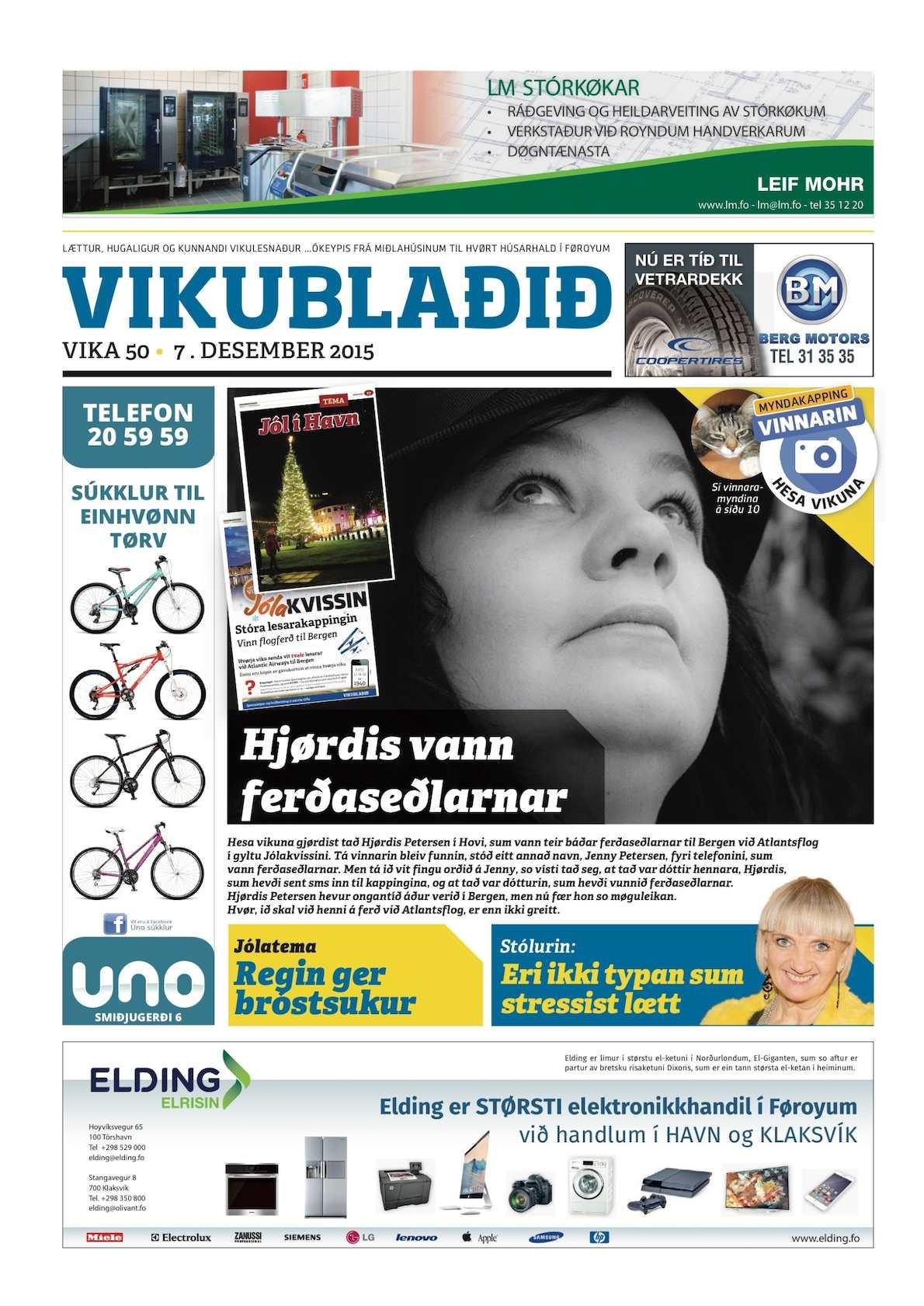 Vikublaðið 7. des. 2015