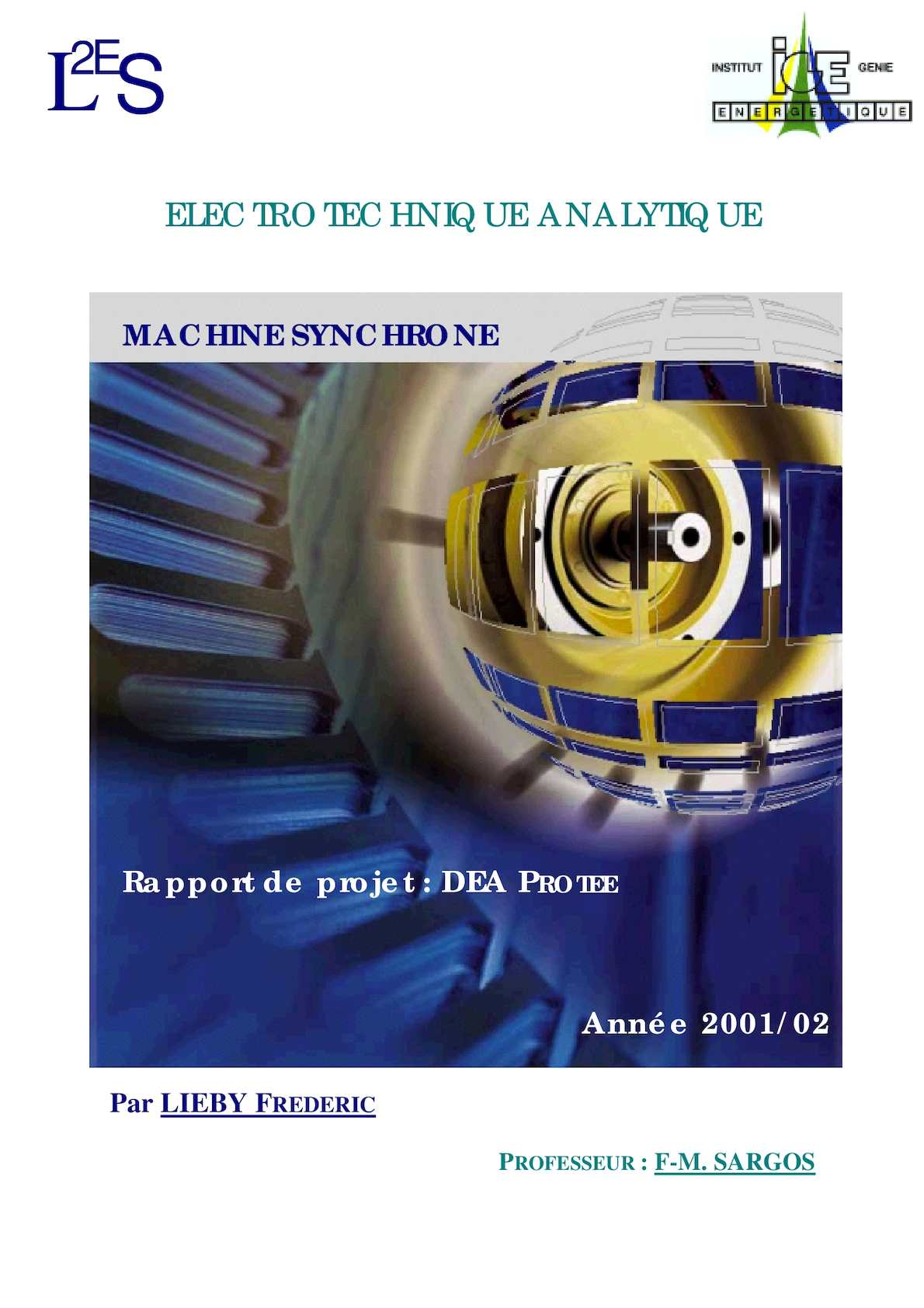 Electrotechnique Analytique (61pages) Machine Synchrone