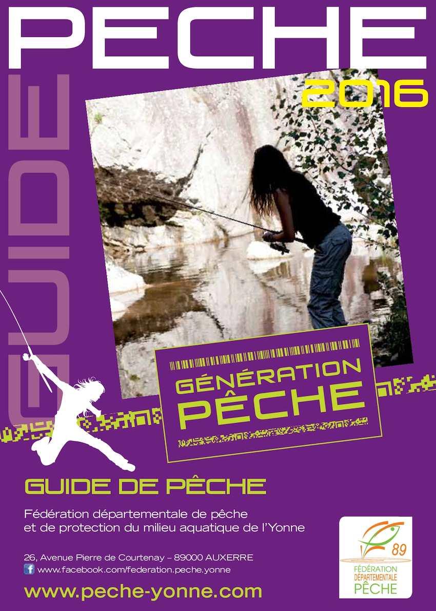 Calaméo - GUIDE 2016 DE LA PÊCHE DANS L YONNE e22697ad96b