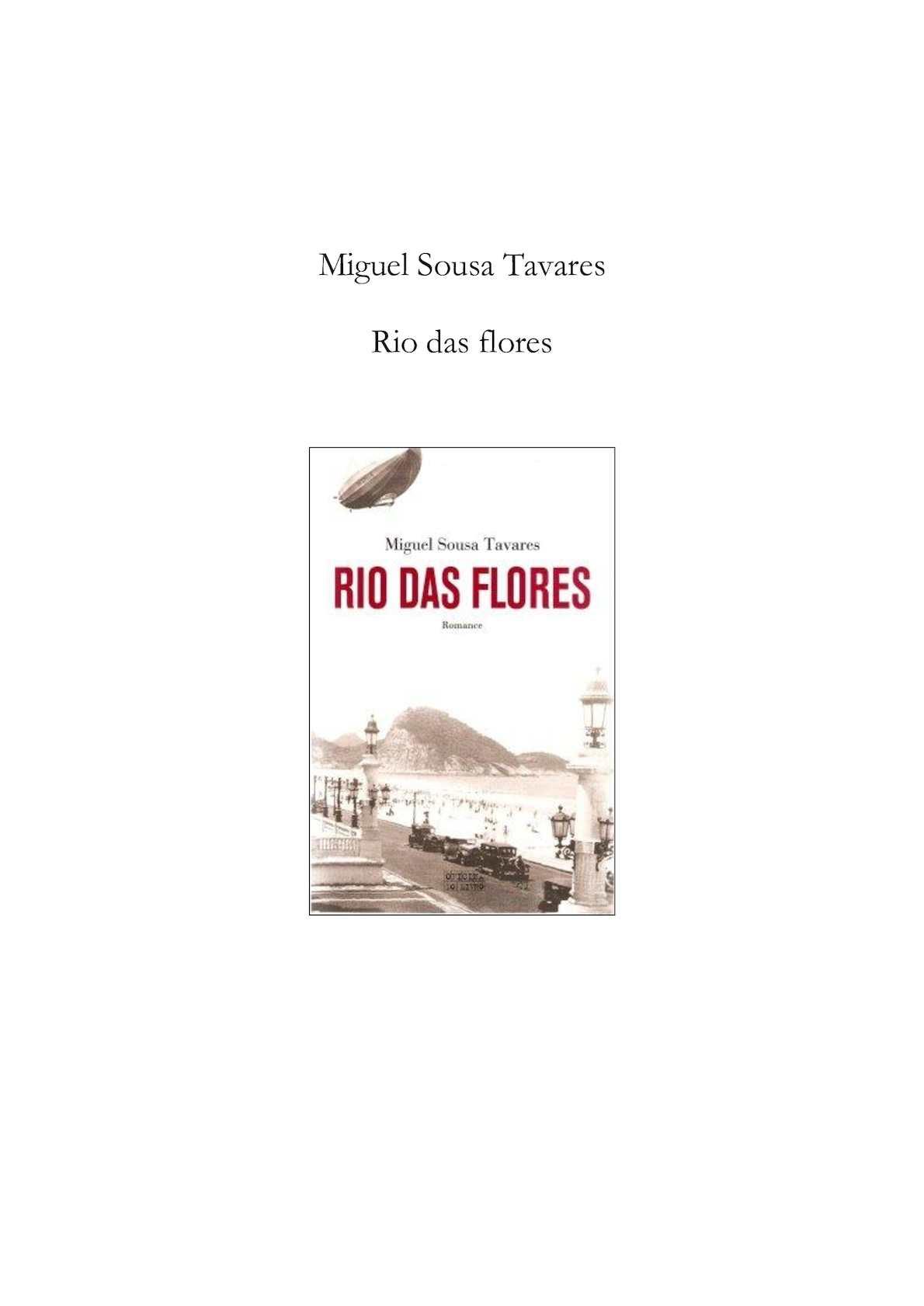 795c592c10 Calaméo - Miguel Sousa Tavares - Rio Das Flores