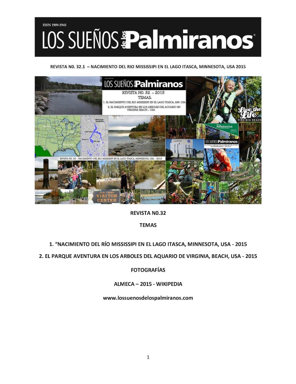 Calaméo - Revista N0 32 1 El Nacimiento Del Río Mississippi Es El ...