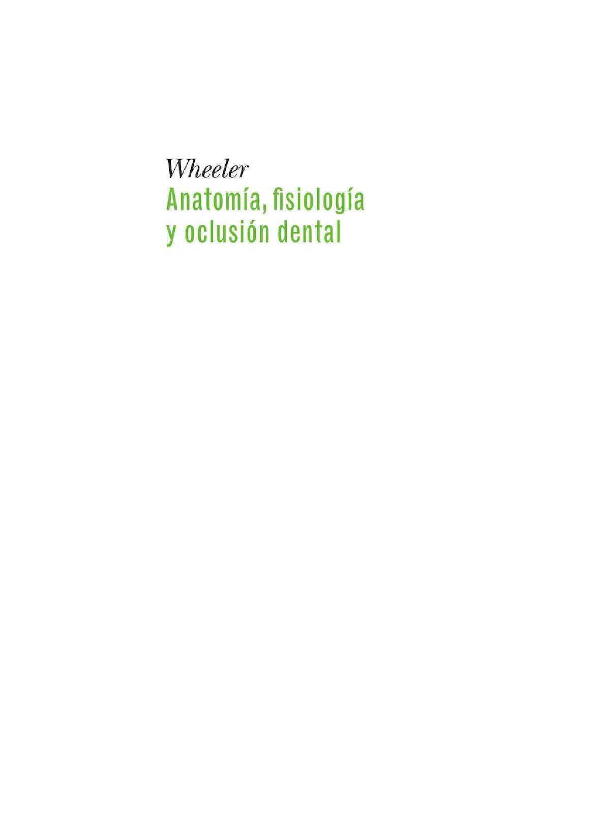 Anatomia Fisiologia Y Oclusion Dental - CALAMEO Downloader