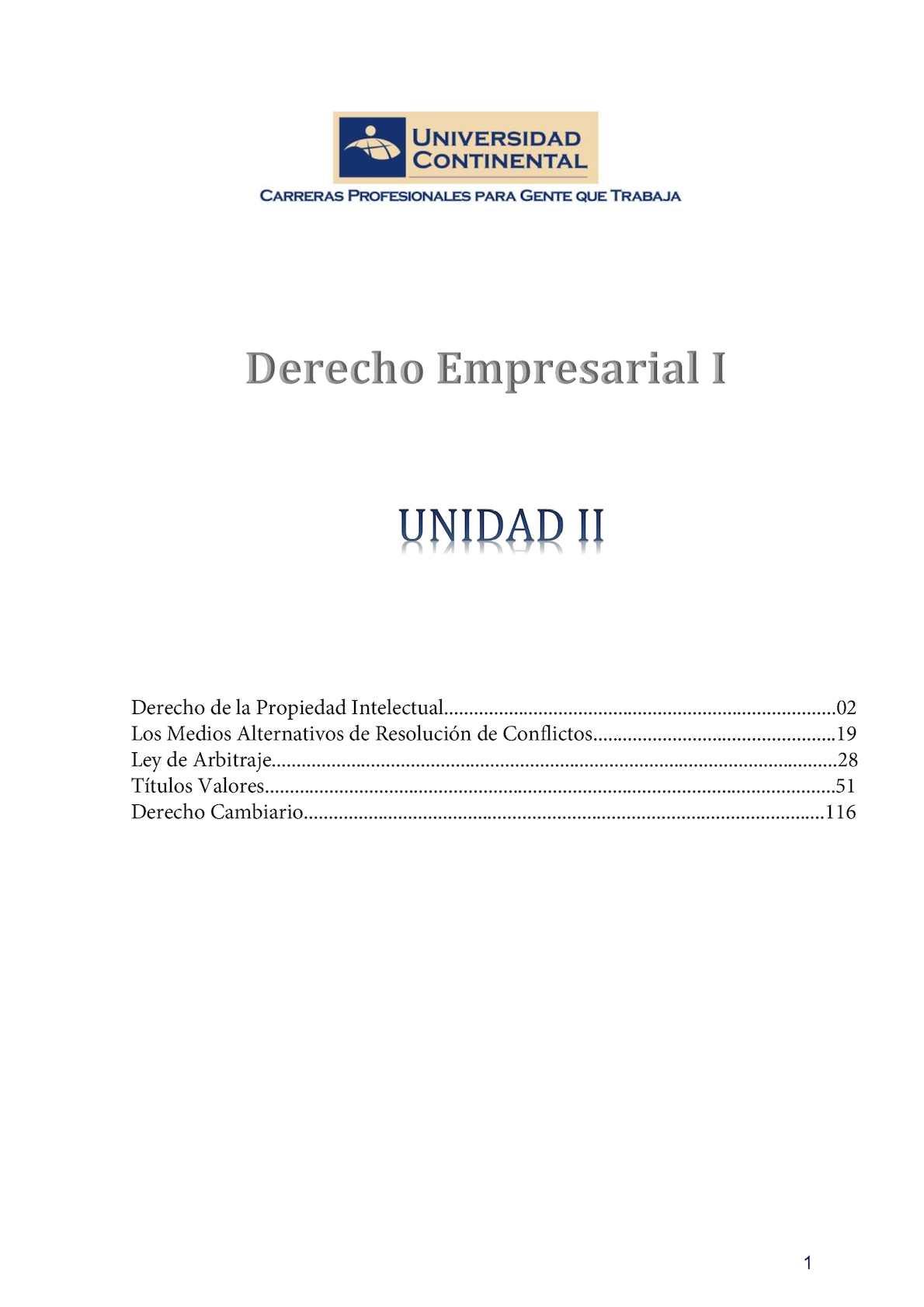 Calaméo - Derecho Empresarial I Unidad Ii