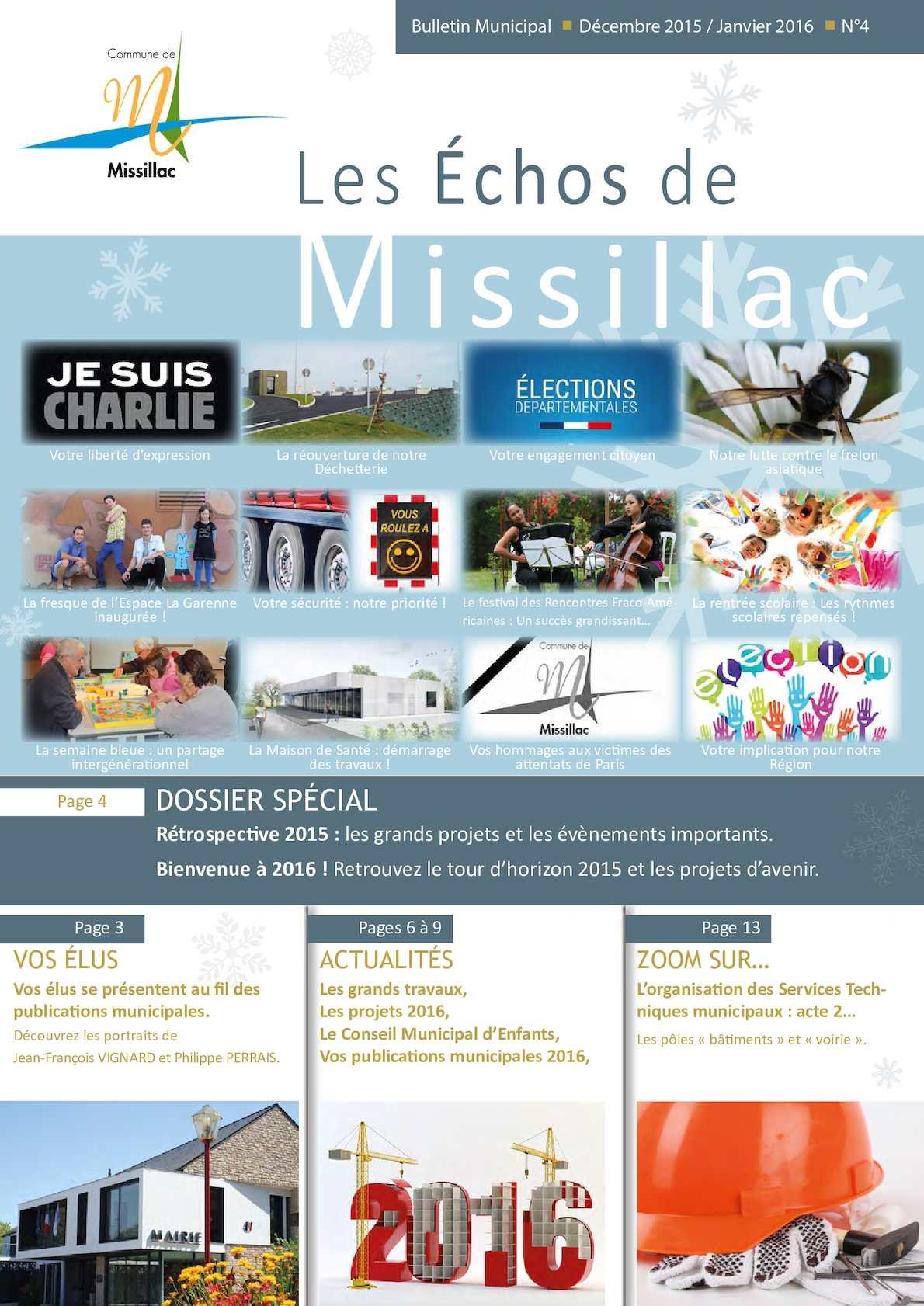 Calaméo - Bulletin Municipal Décembre 2015-Janvier 2016 db75635b5b1