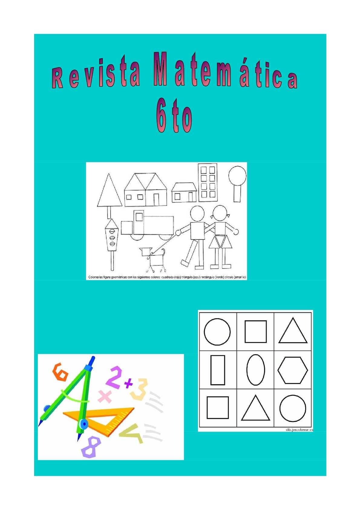 Revista Matematica 6to