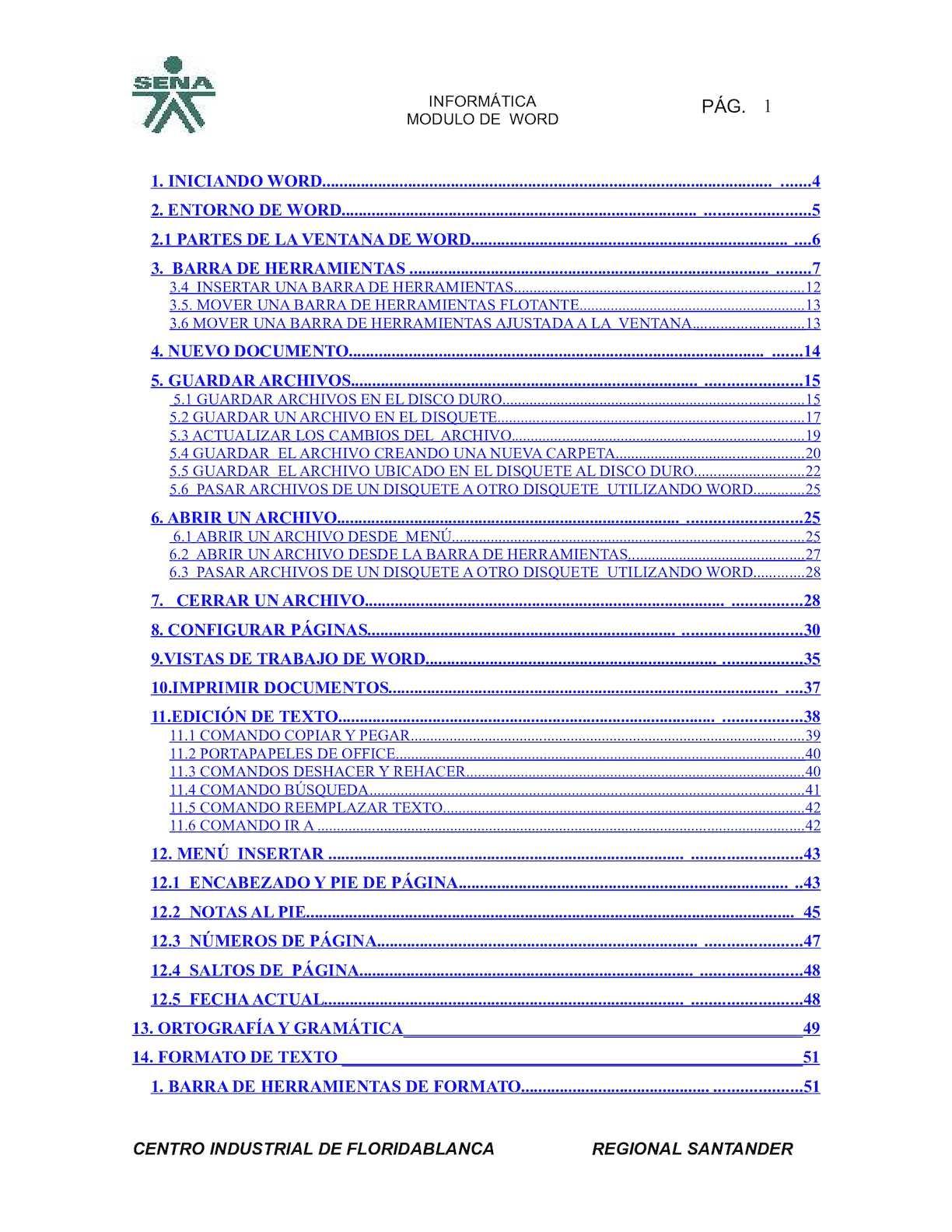 Calaméo - Manual de Word