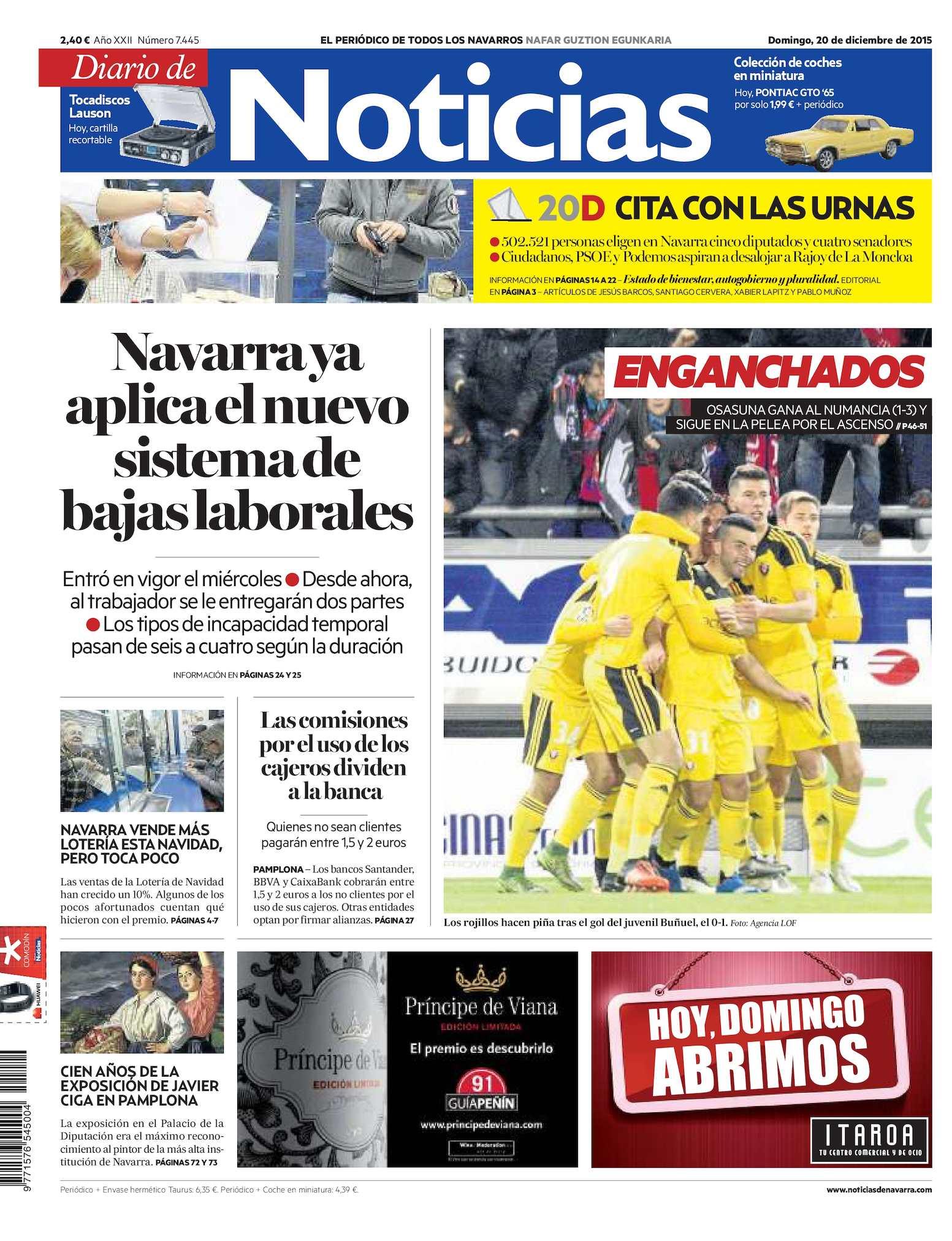 e9fb9cef51604 Calaméo - Diario de Noticias 20151220