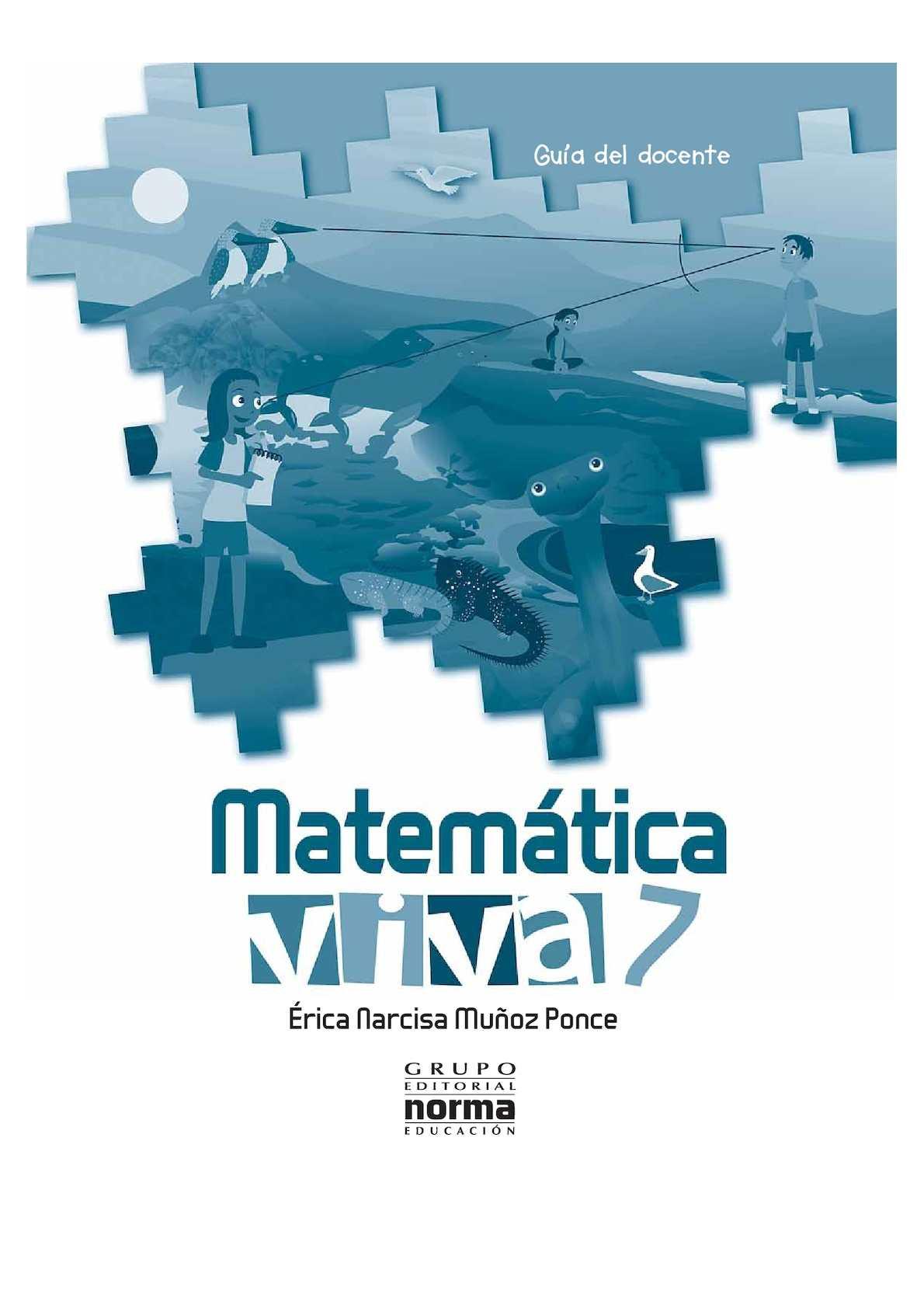 Palabra Viva 7 Año Matemática