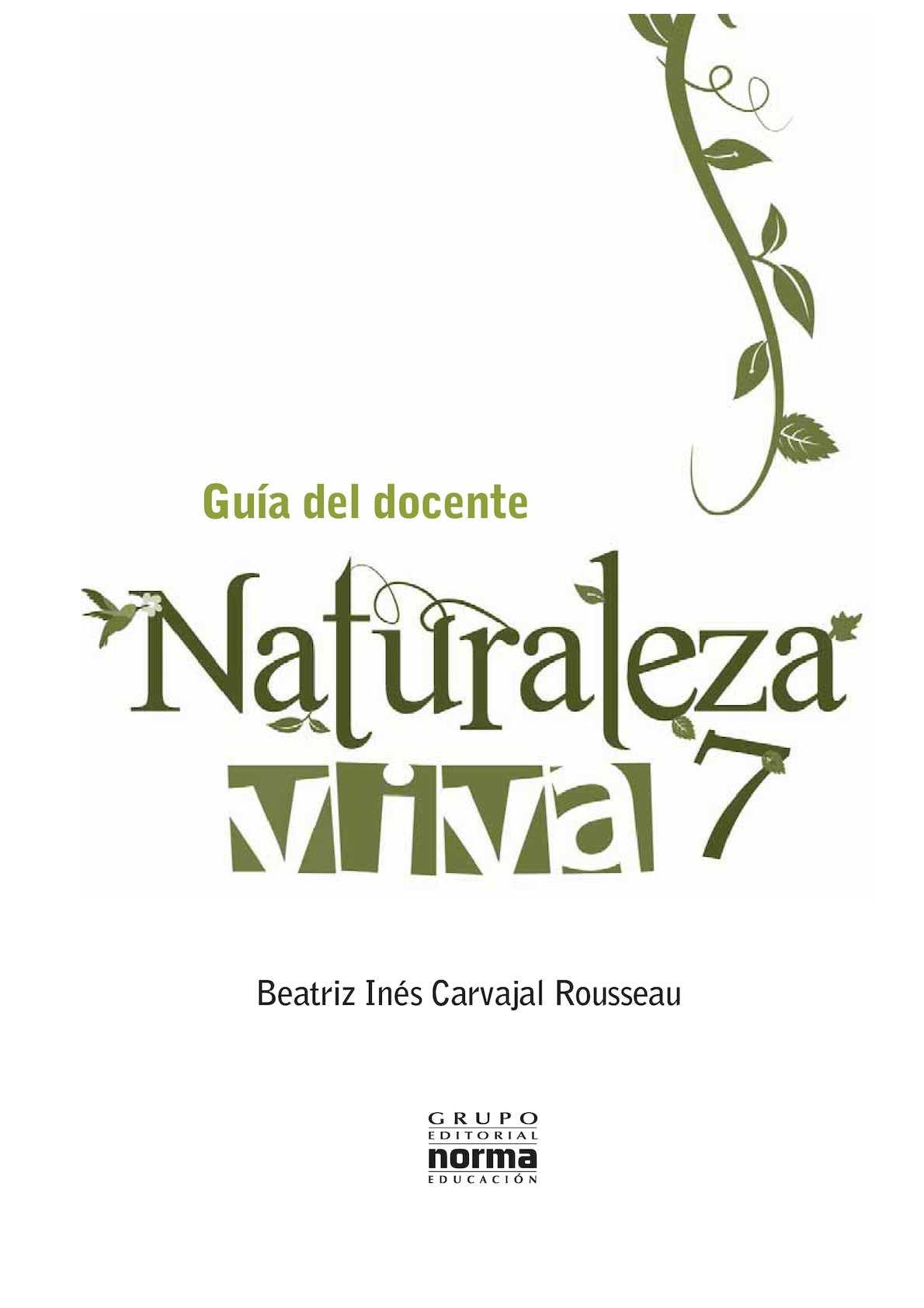 Palabra Viva 7 Año Ciencias Naturales