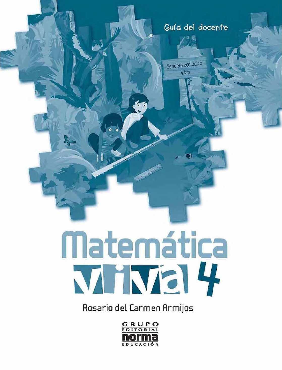 Tierra Viva 4 Año Matematica