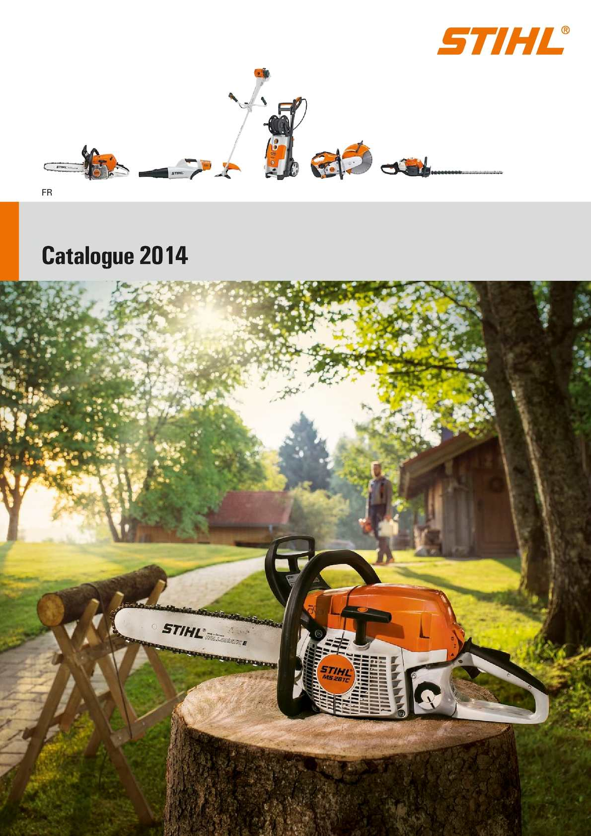 calam o stihl catalogue 2014 fr. Black Bedroom Furniture Sets. Home Design Ideas