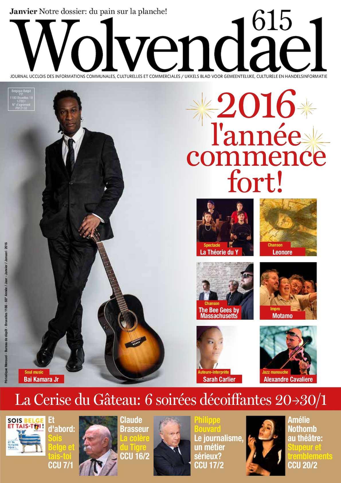 Calaméo Wolvendael Magazine N 615 Janvier 2016