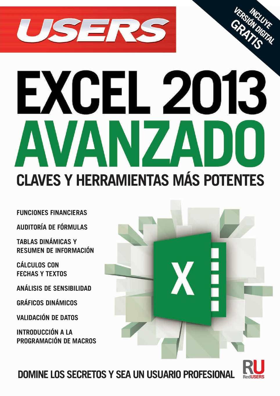Excel 2013 - Avanzado - VAF