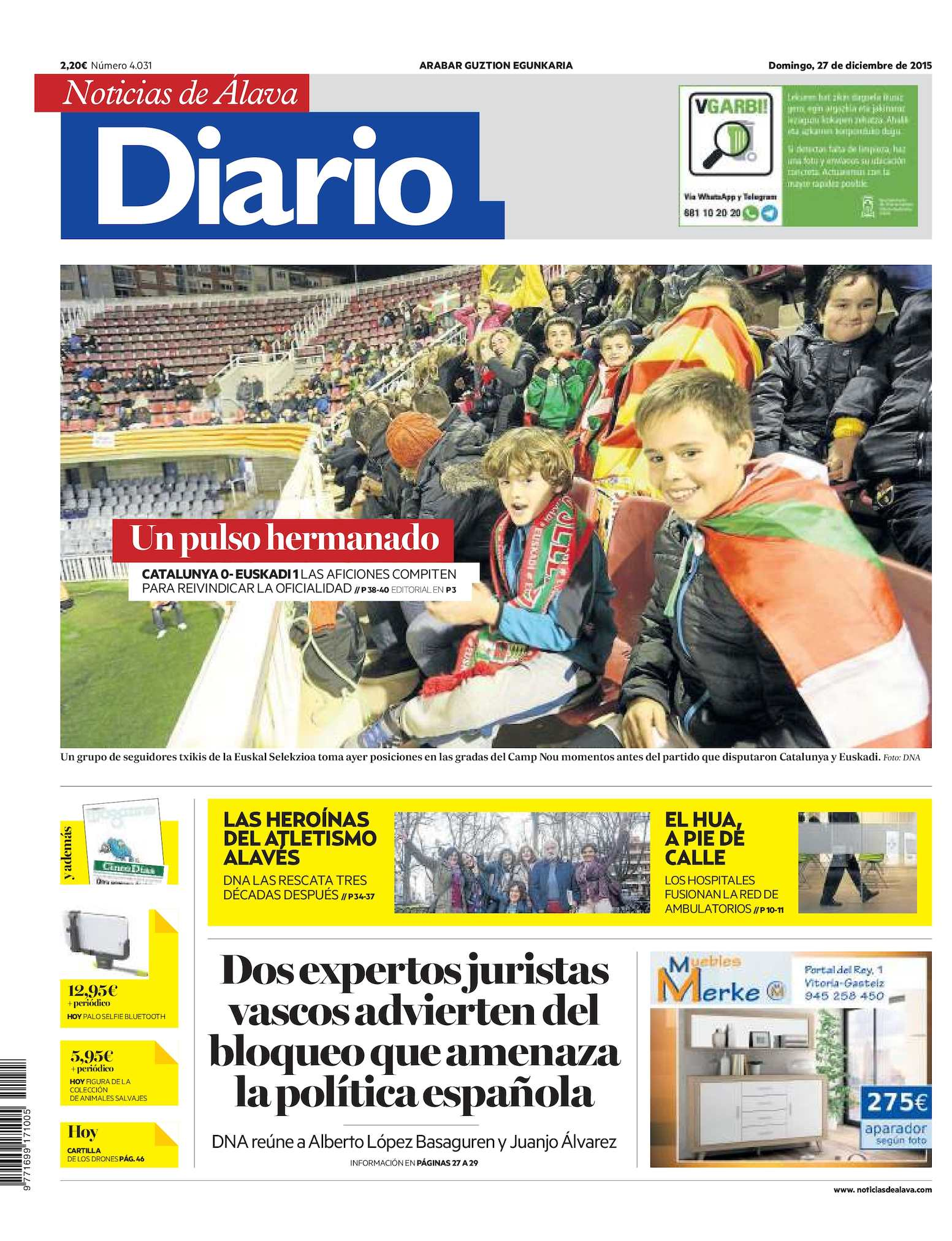Calaméo - Diario de Noticias de Álava 20151227
