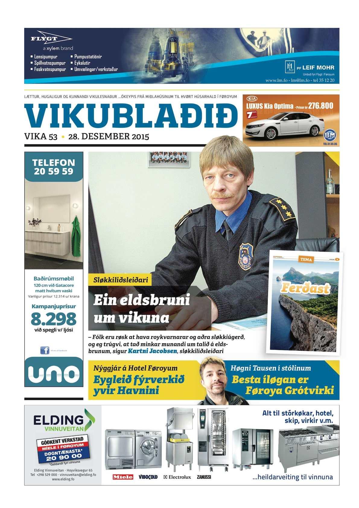 Vikublaðið 28. des. 2015