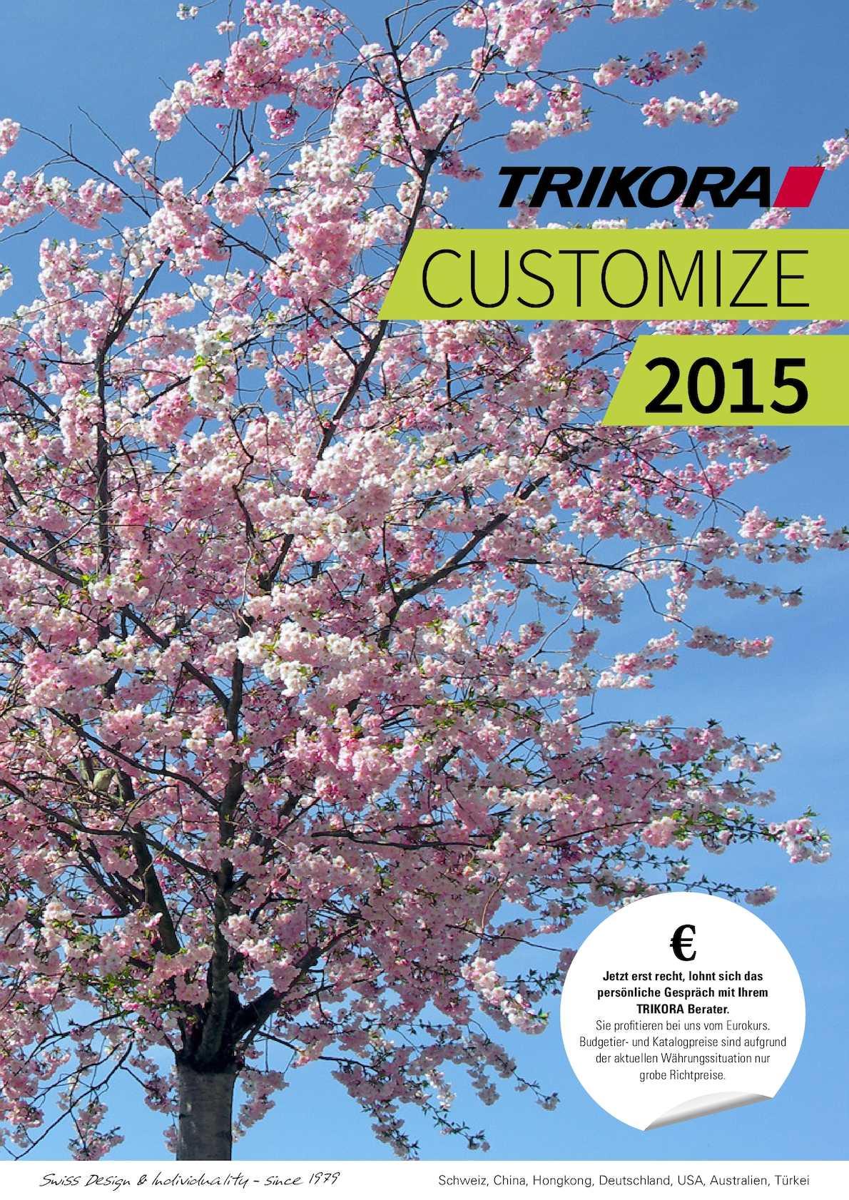 Calaméo - TRIKORA Customize 2015