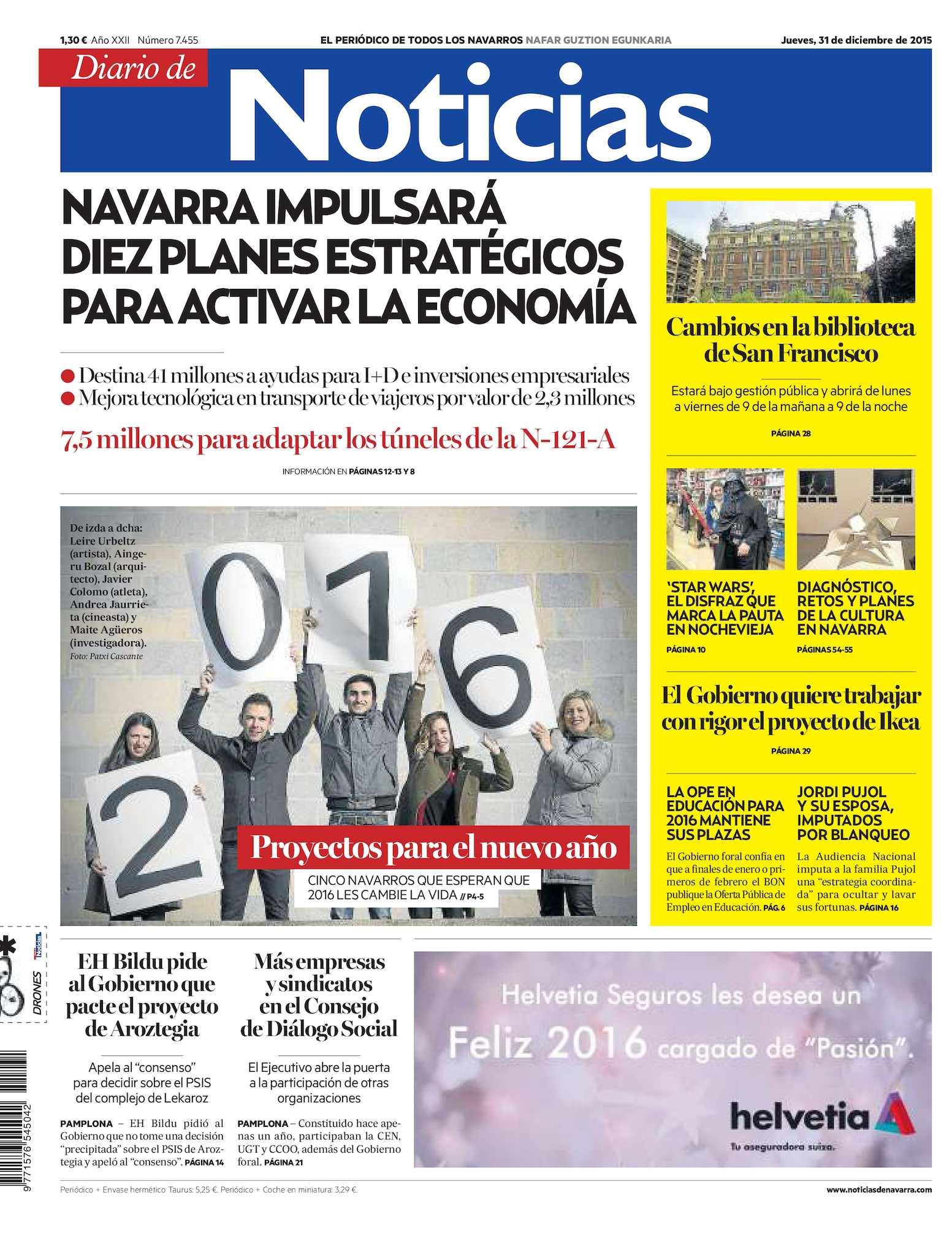 Calaméo - Diario de Noticias 20151231